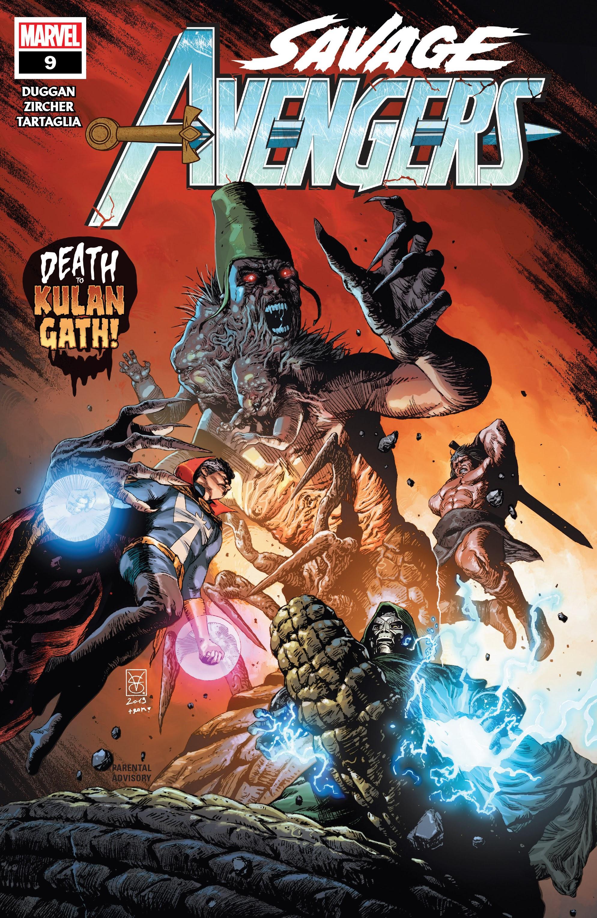Savage Avengers 9 Page 1