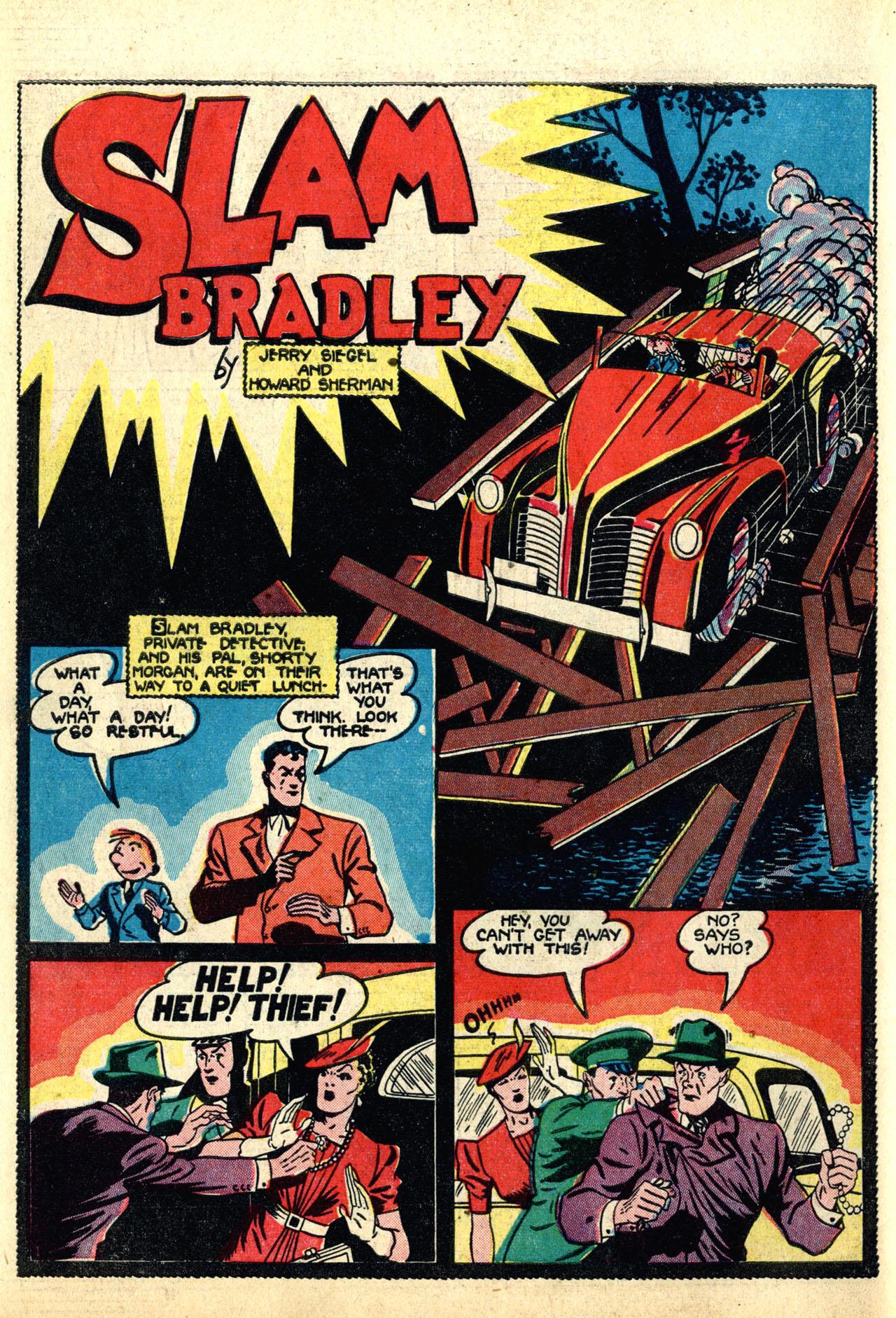 Read online Detective Comics (1937) comic -  Issue #50 - 58
