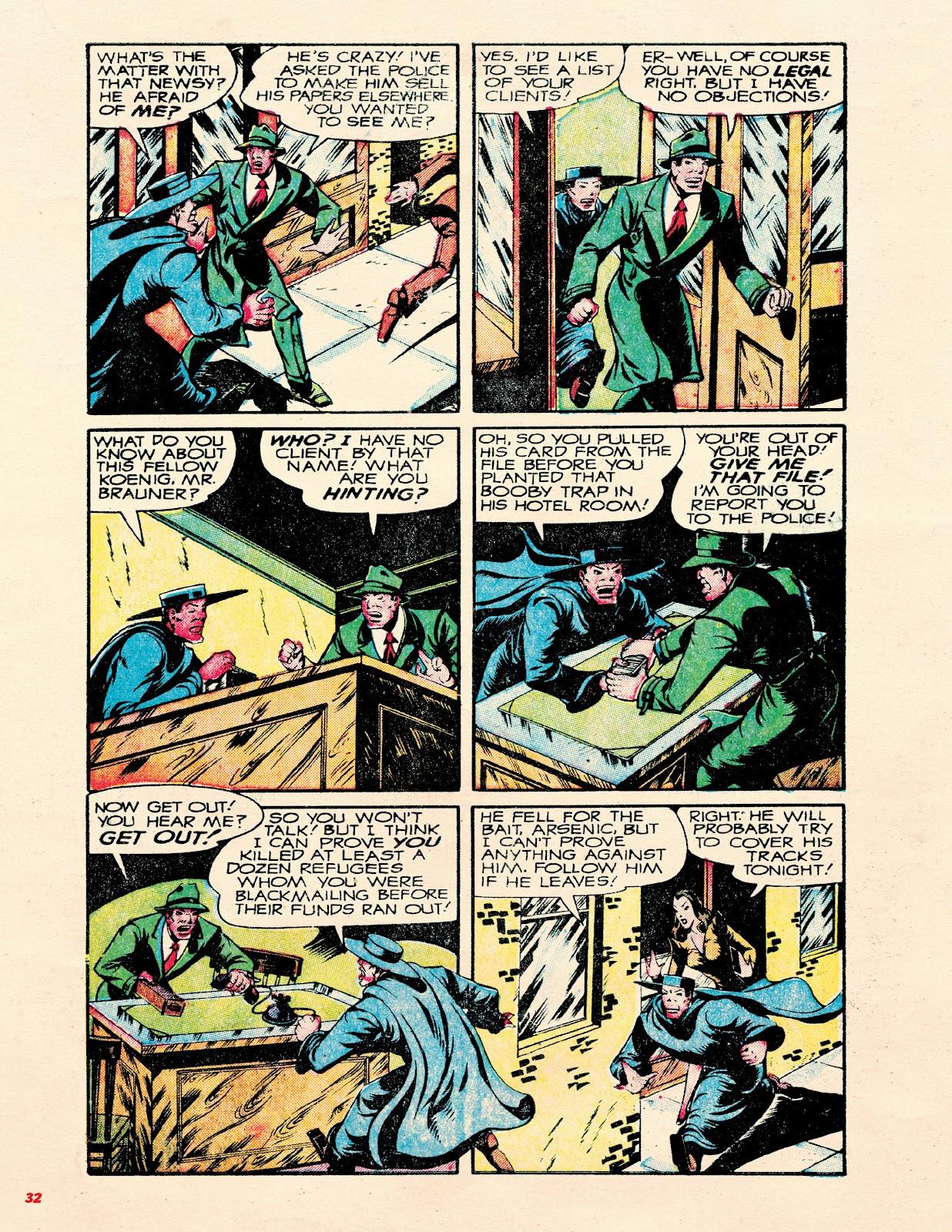 Read online Super Weird Heroes comic -  Issue # TPB 2 (Part 1) - 32