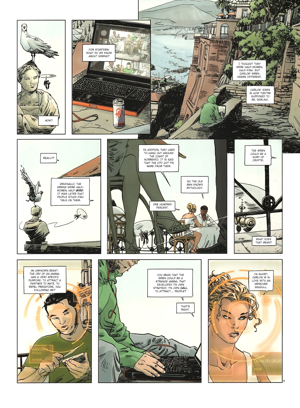 Read online Cutting Edge (2013) comic -  Issue #2 - 11