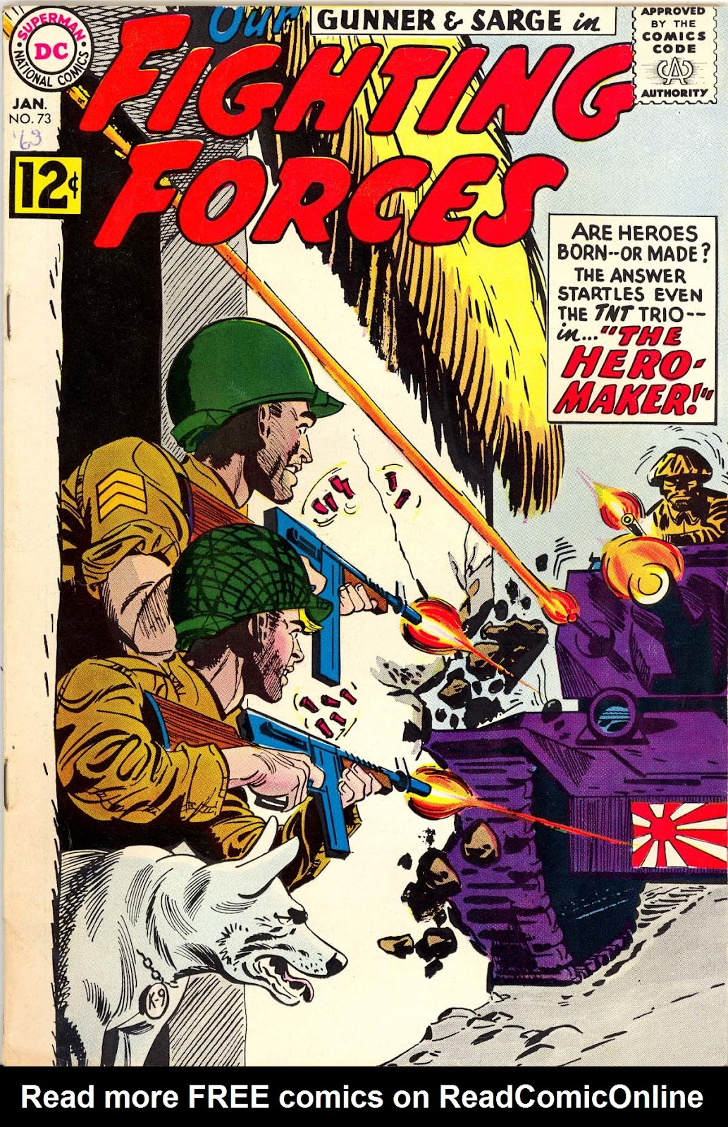 Our Fighting Forces (1954) issue 73 - Page 1