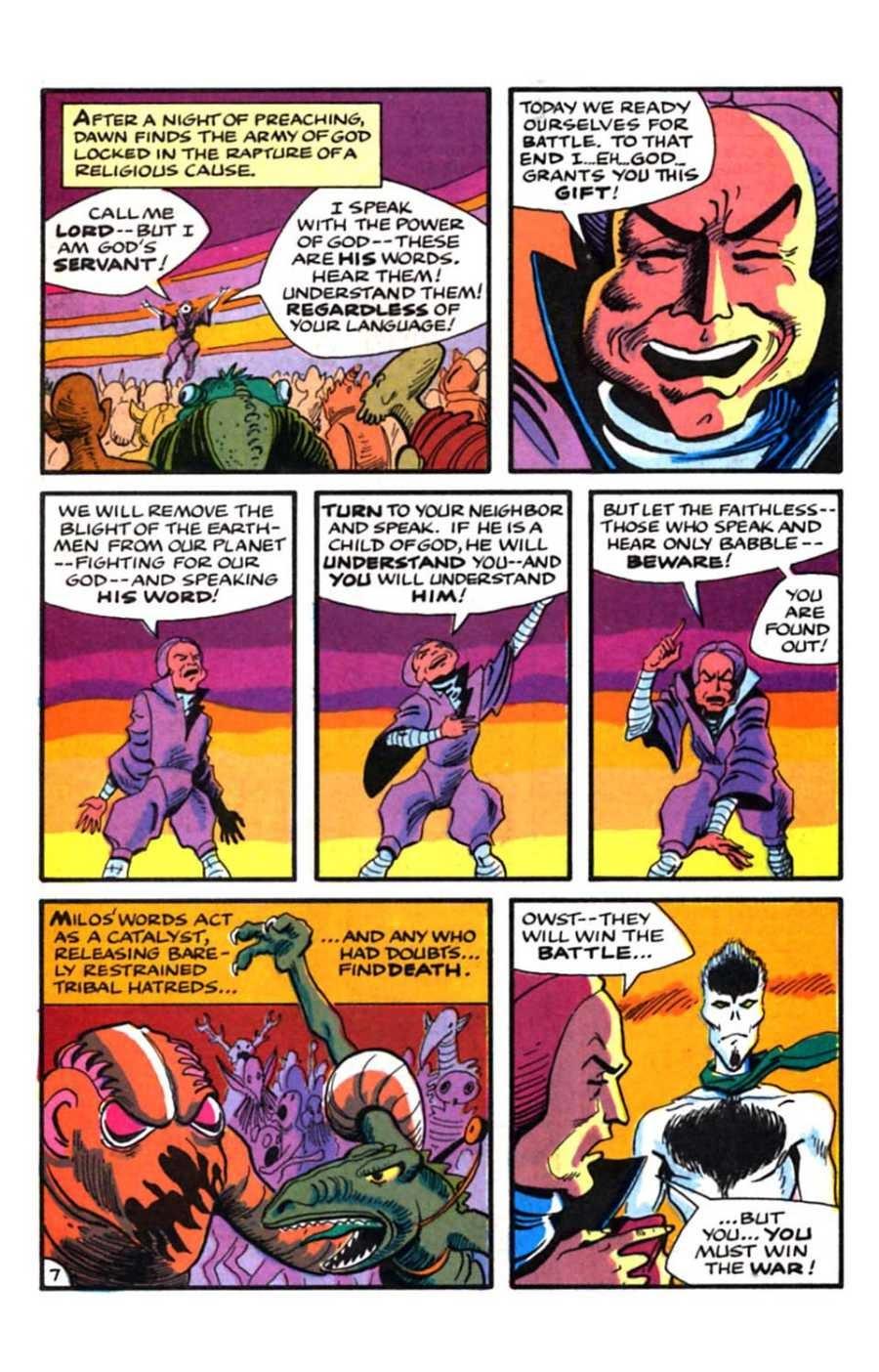 Read online Mars comic -  Issue #9 - 9