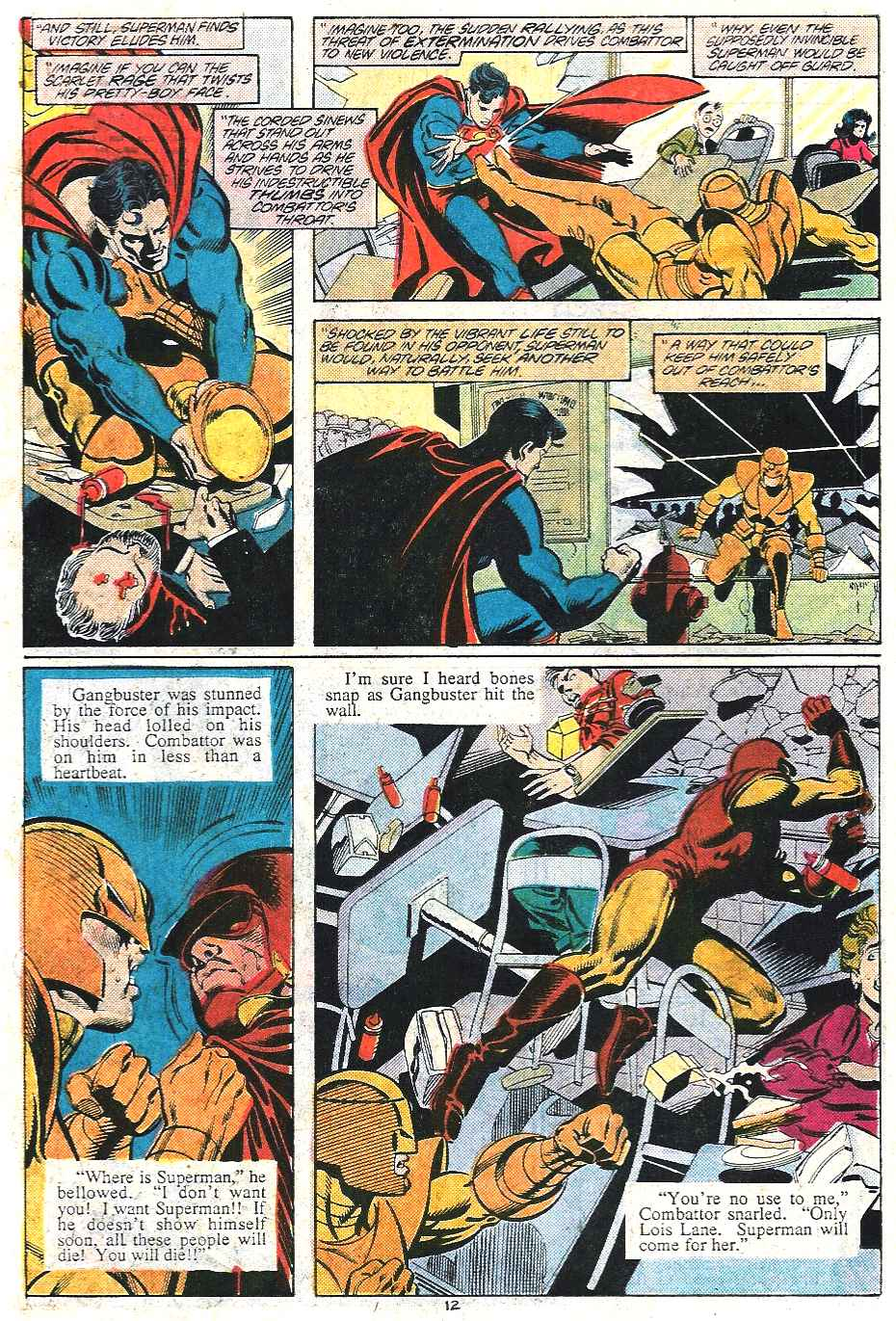 Read online Adventures of Superman (1987) comic -  Issue #437 - 12