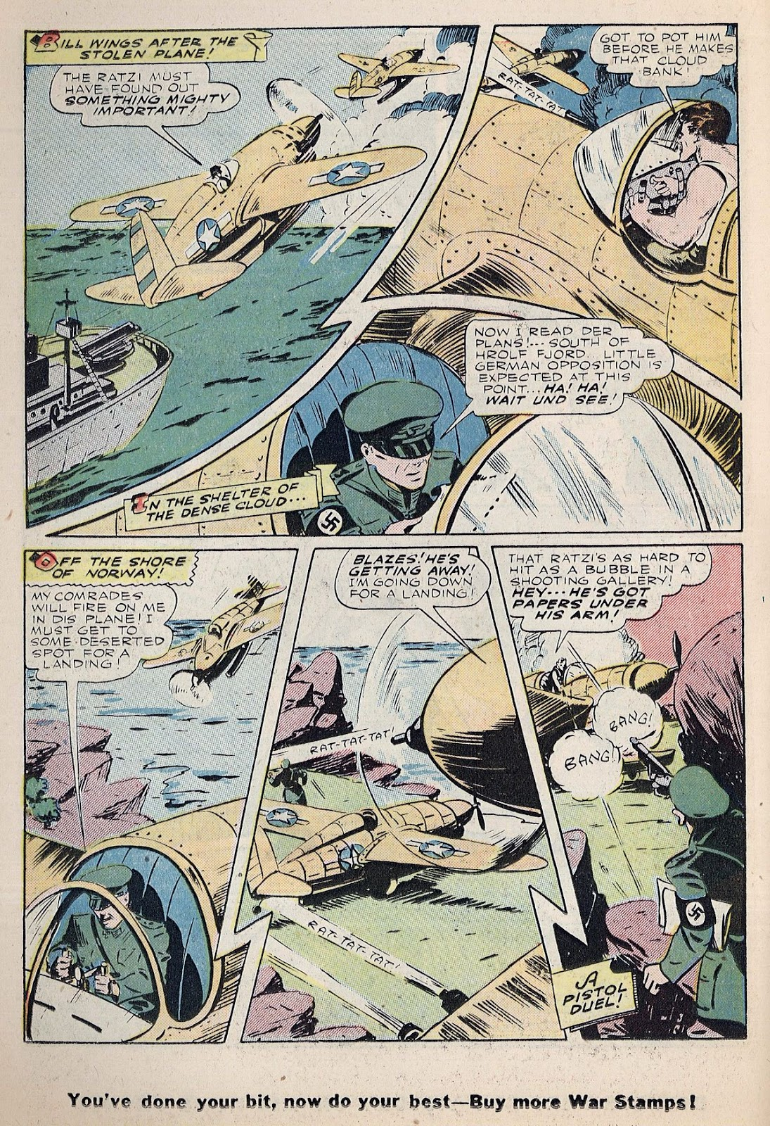 Exciting Comics (1940) issue 38 - Page 30