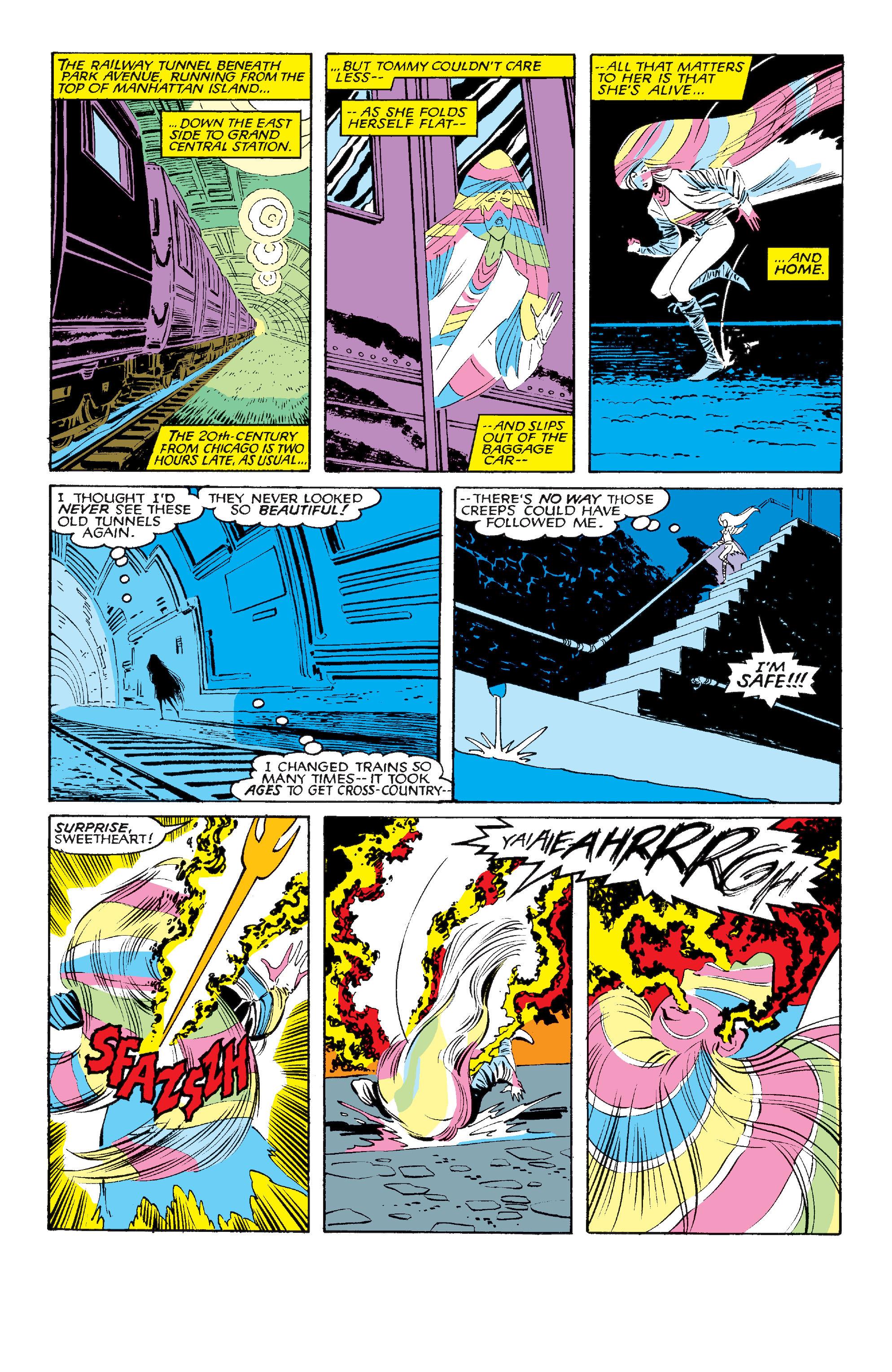 Read online Uncanny X-Men (1963) comic -  Issue #210 - 23