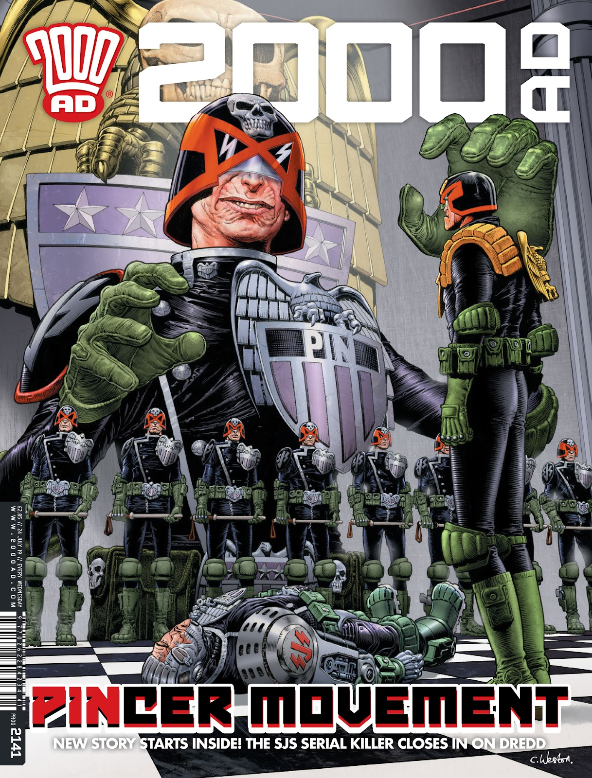 2000 AD issue 2141 - Page 1