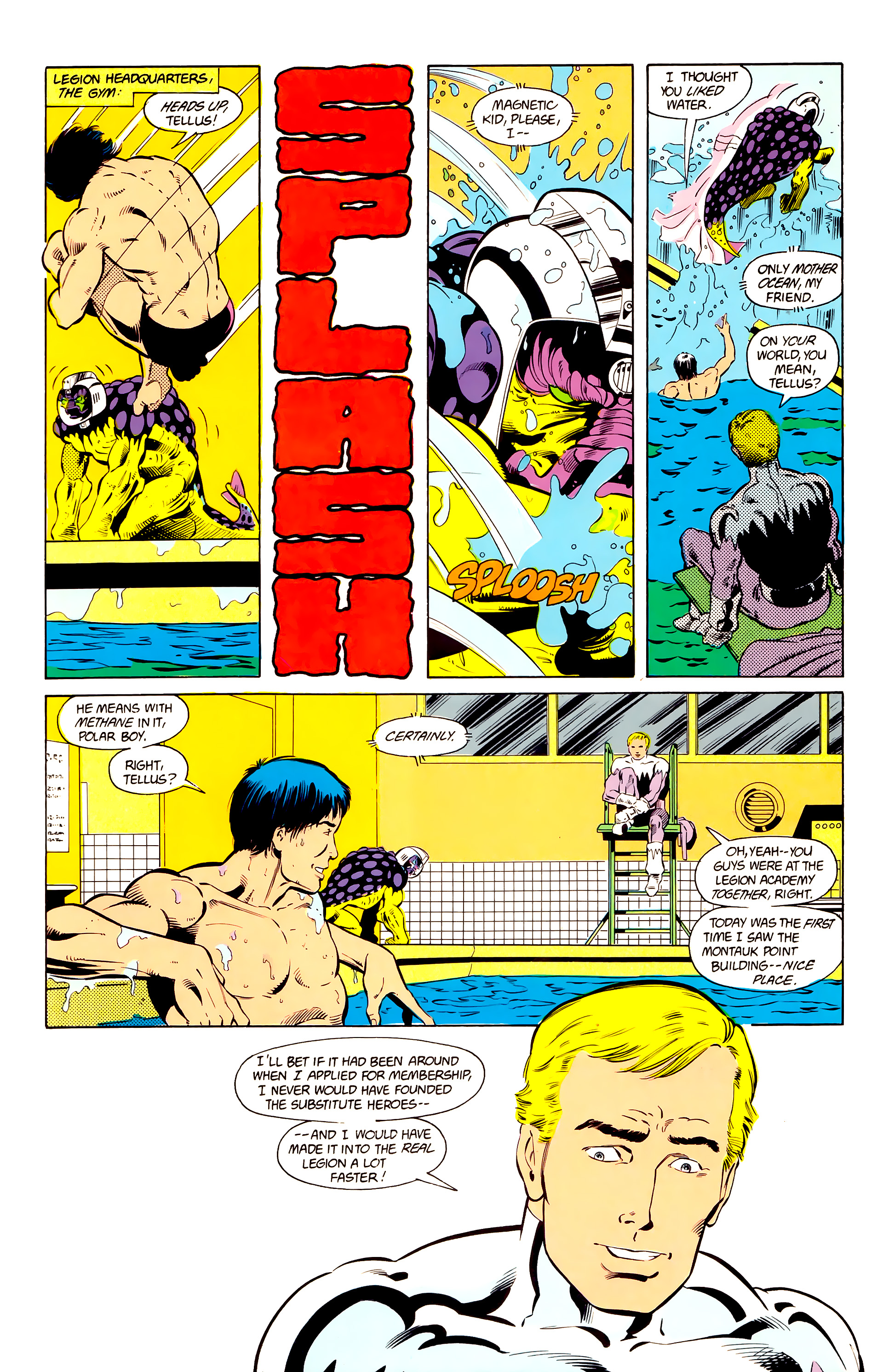Legion of Super-Heroes (1984) 24 Page 14