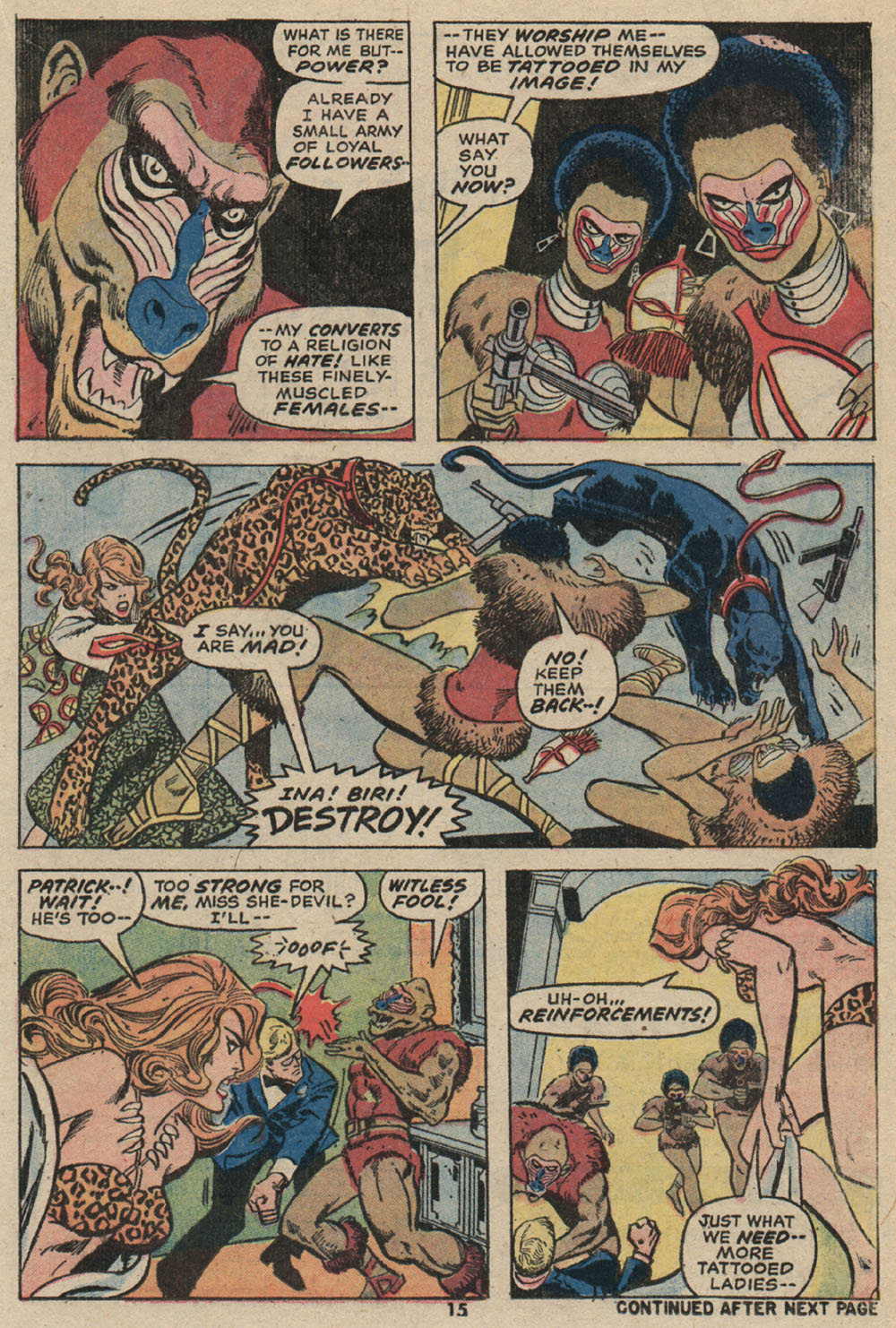 Read online Shanna, the She-Devil (1972) comic -  Issue #4 - 12