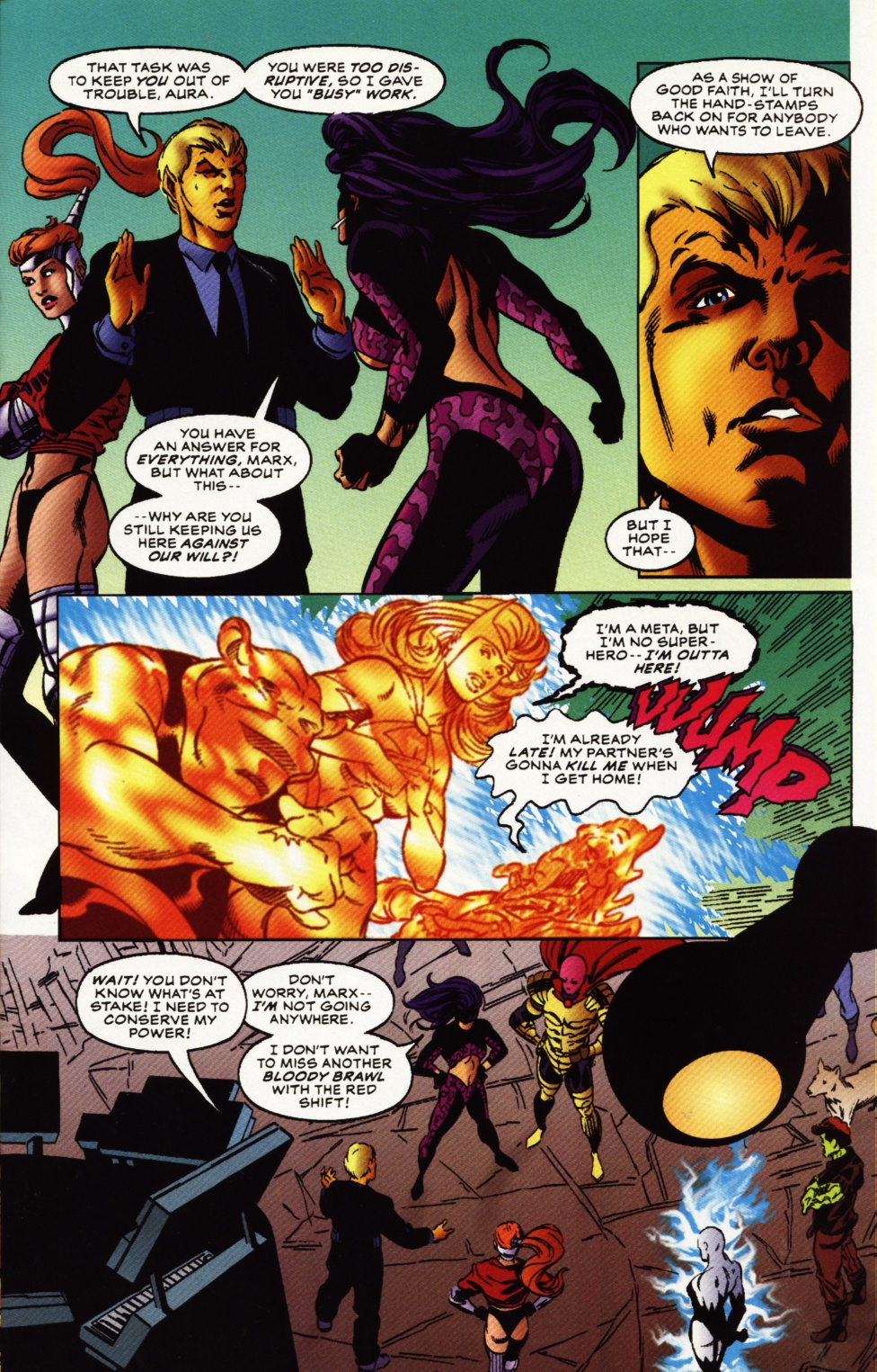 Read online Superboy & The Ravers comic -  Issue #12 - 16