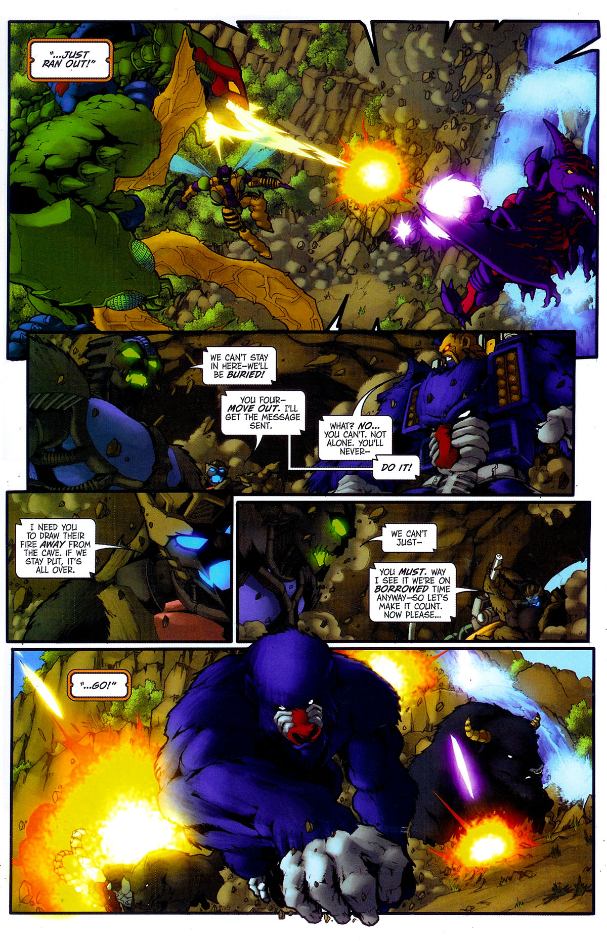 Read online Transformers, Beast Wars: The Gathering comic -  Issue #4 - 16