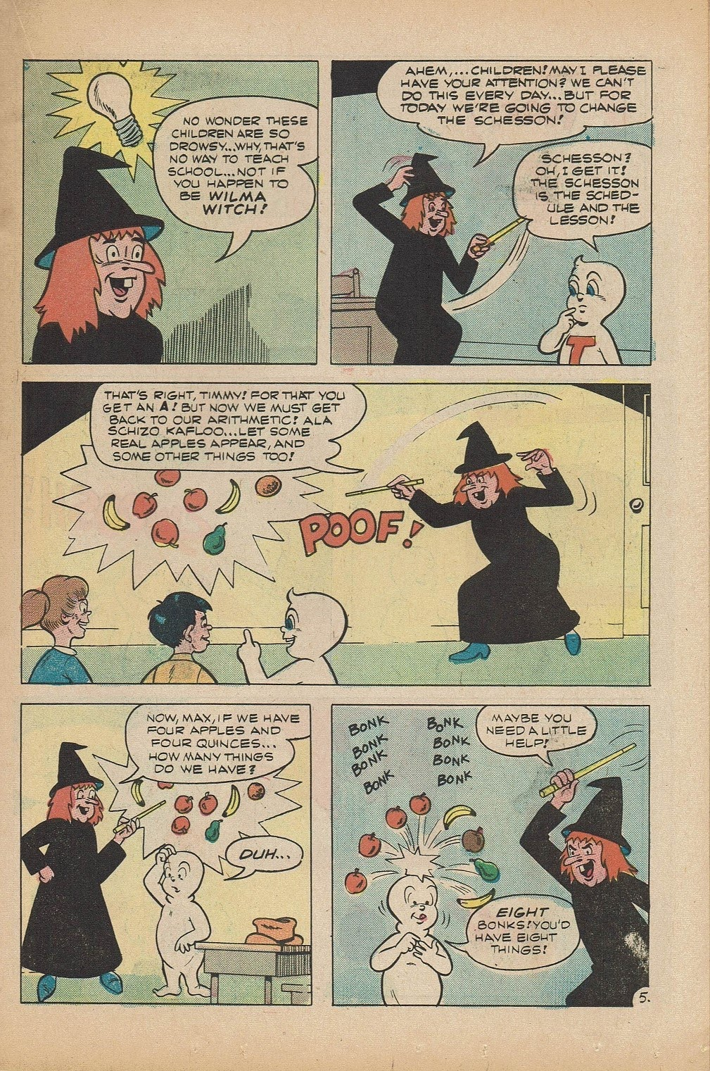 Read online Timmy the Timid Ghost comic -  Issue #5 - 15
