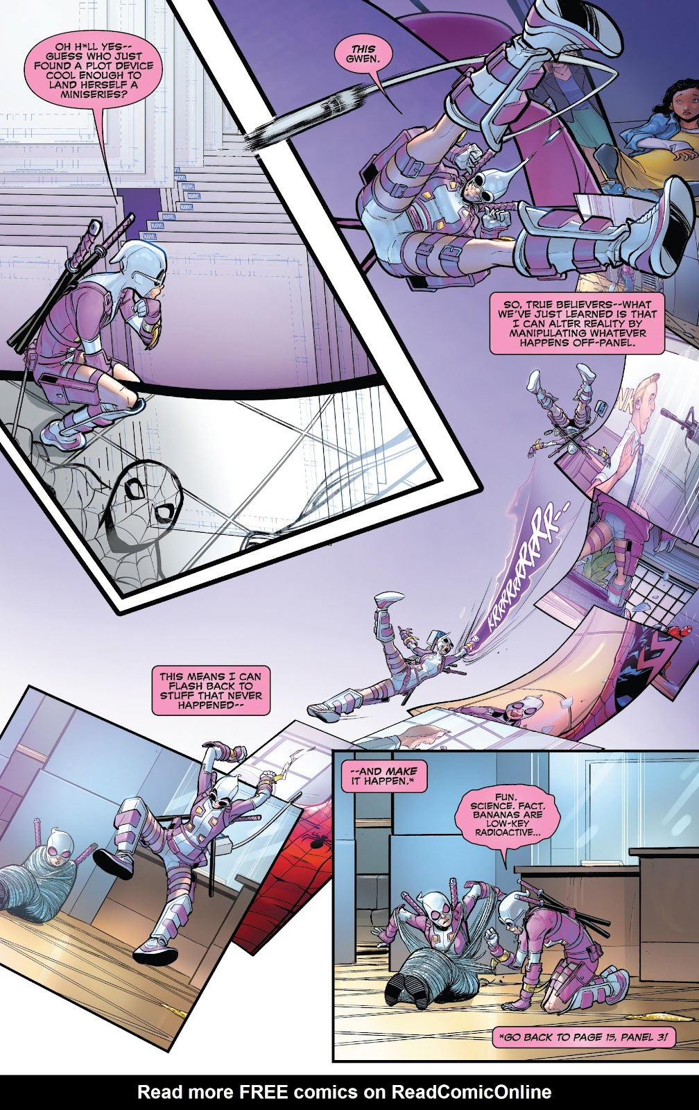 Gwenpool Strikes Back issue 1 - Page 21