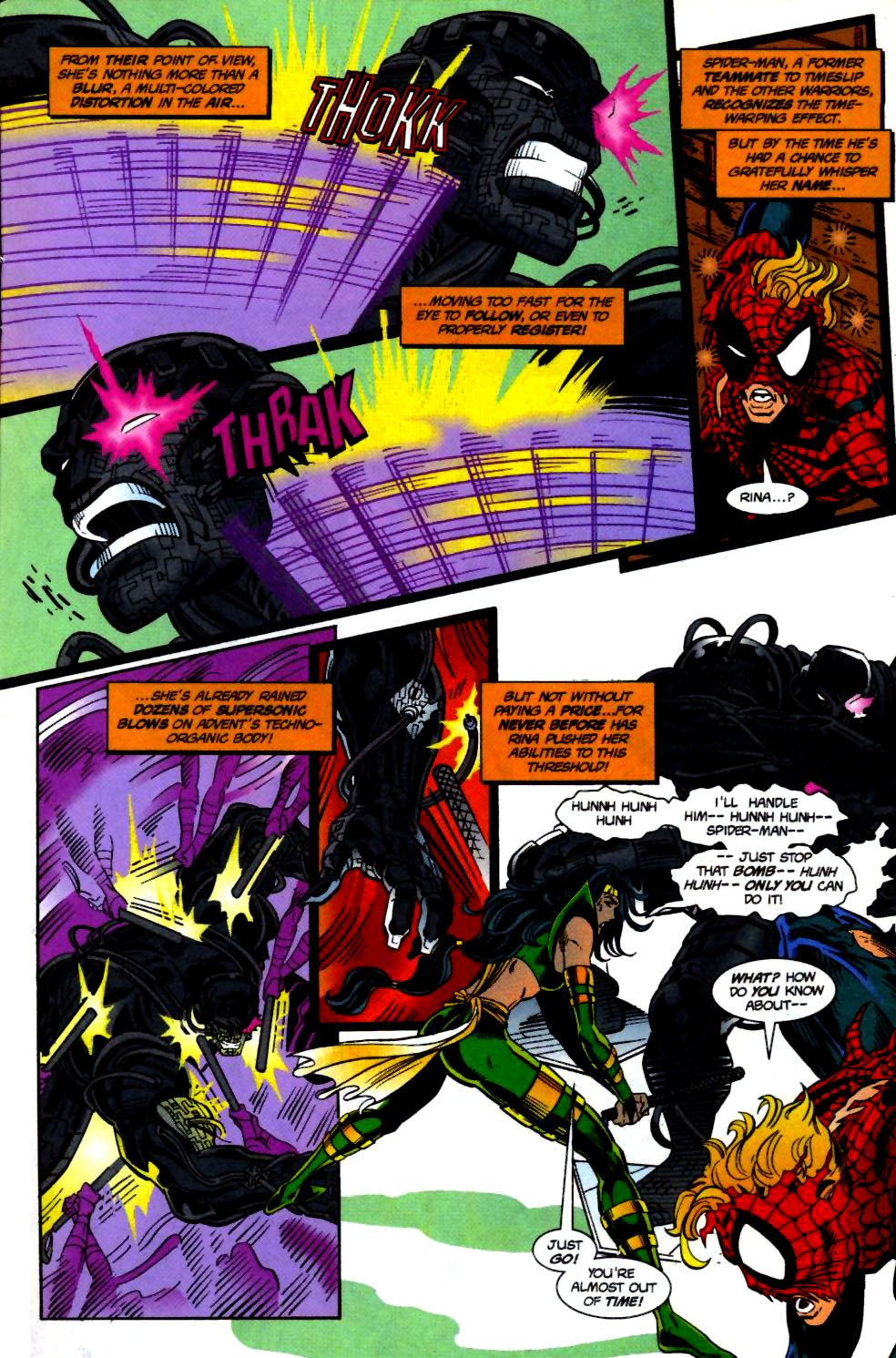 The New Warriors Issue #71 #75 - English 10