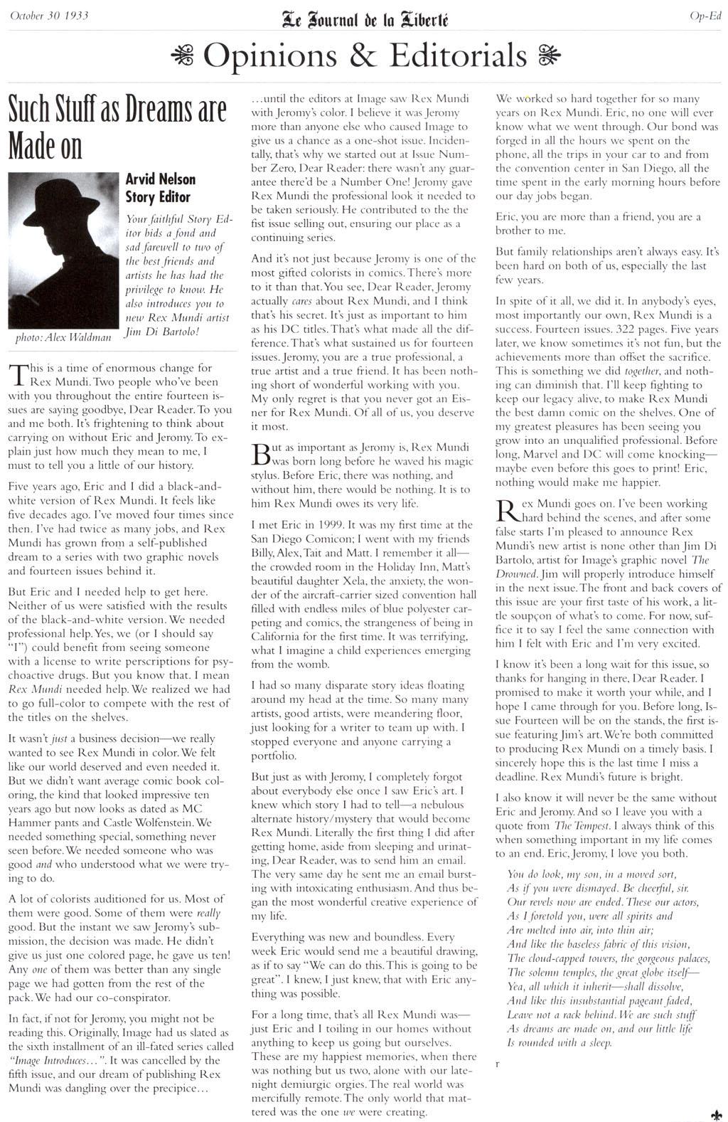 Read online Rex Mundi comic -  Issue #13 - 26