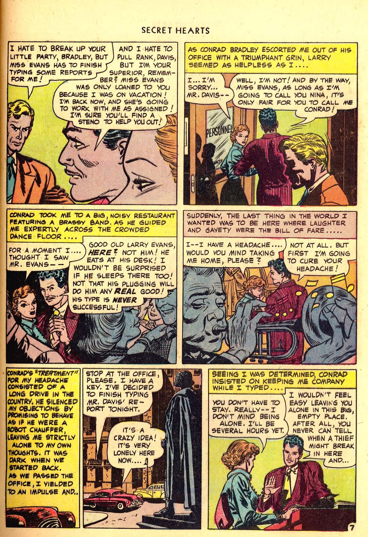 Read online Secret Hearts comic -  Issue #6 - 47