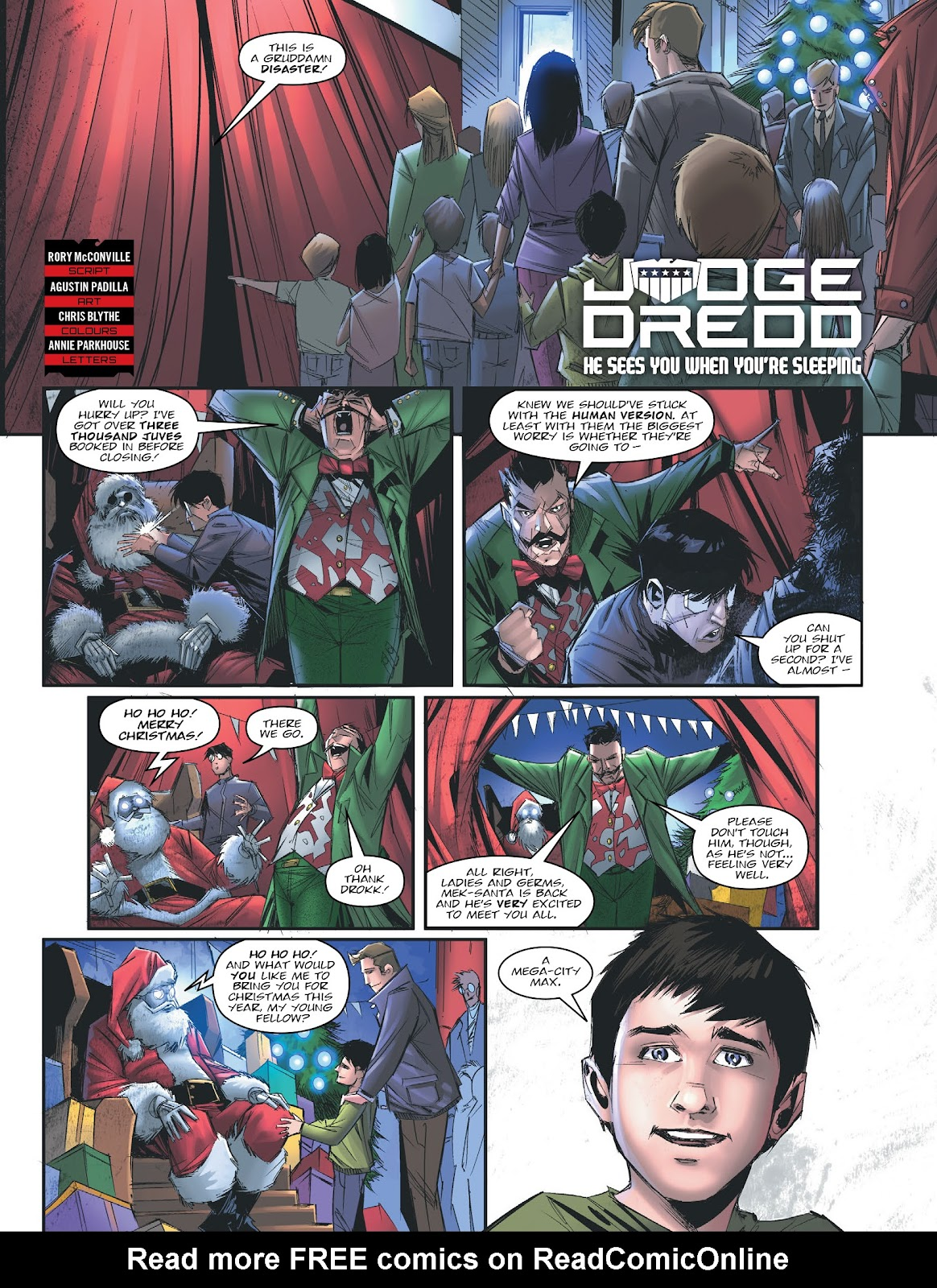 Judge Dredd Megazine (Vol. 5) issue 427 - Page 5