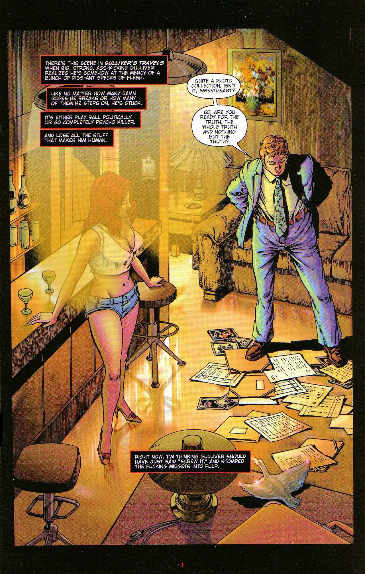 Read online Dominatrix comic -  Issue #5 - 3