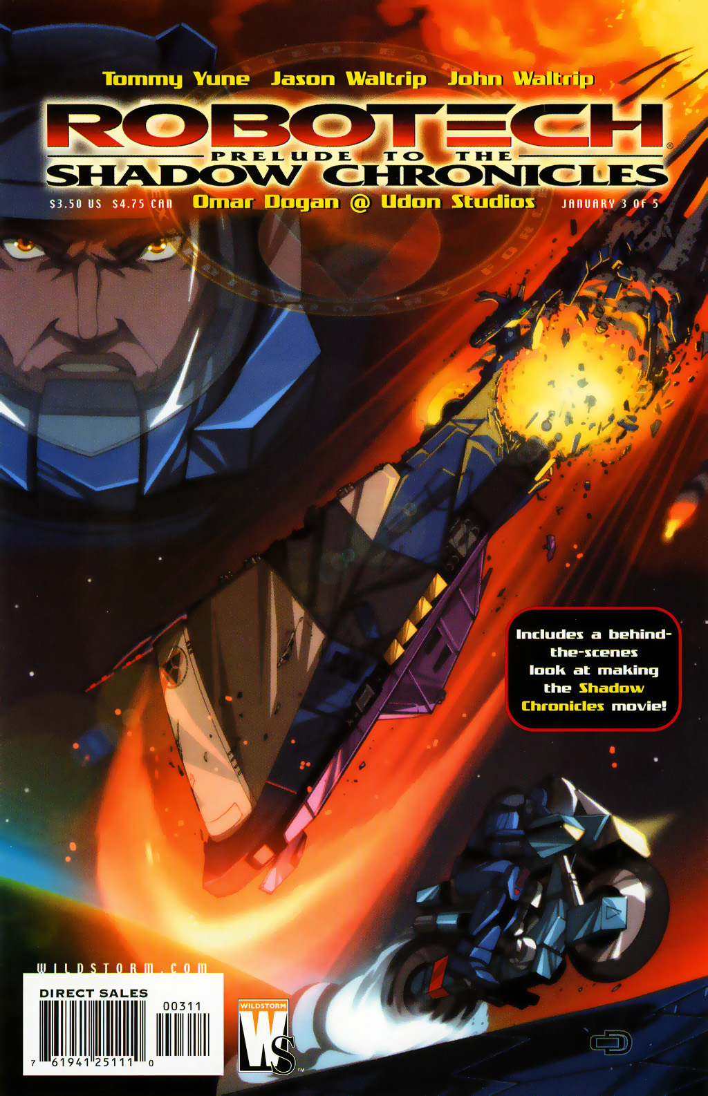 Read online Robotech: Prelude to the Shadow Chronicles comic -  Issue #3 - 1