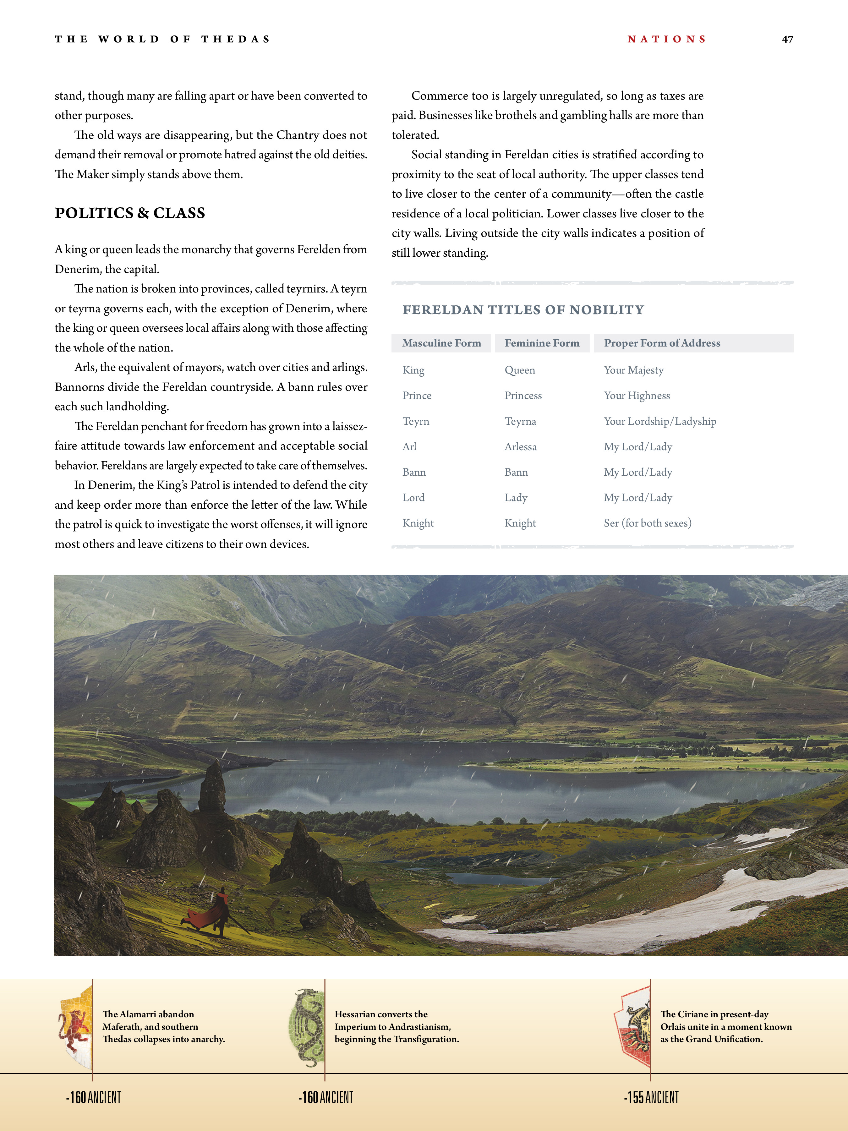 Read online Dragon Age: The World of Thedas comic -  Issue # TPB 1 - 38