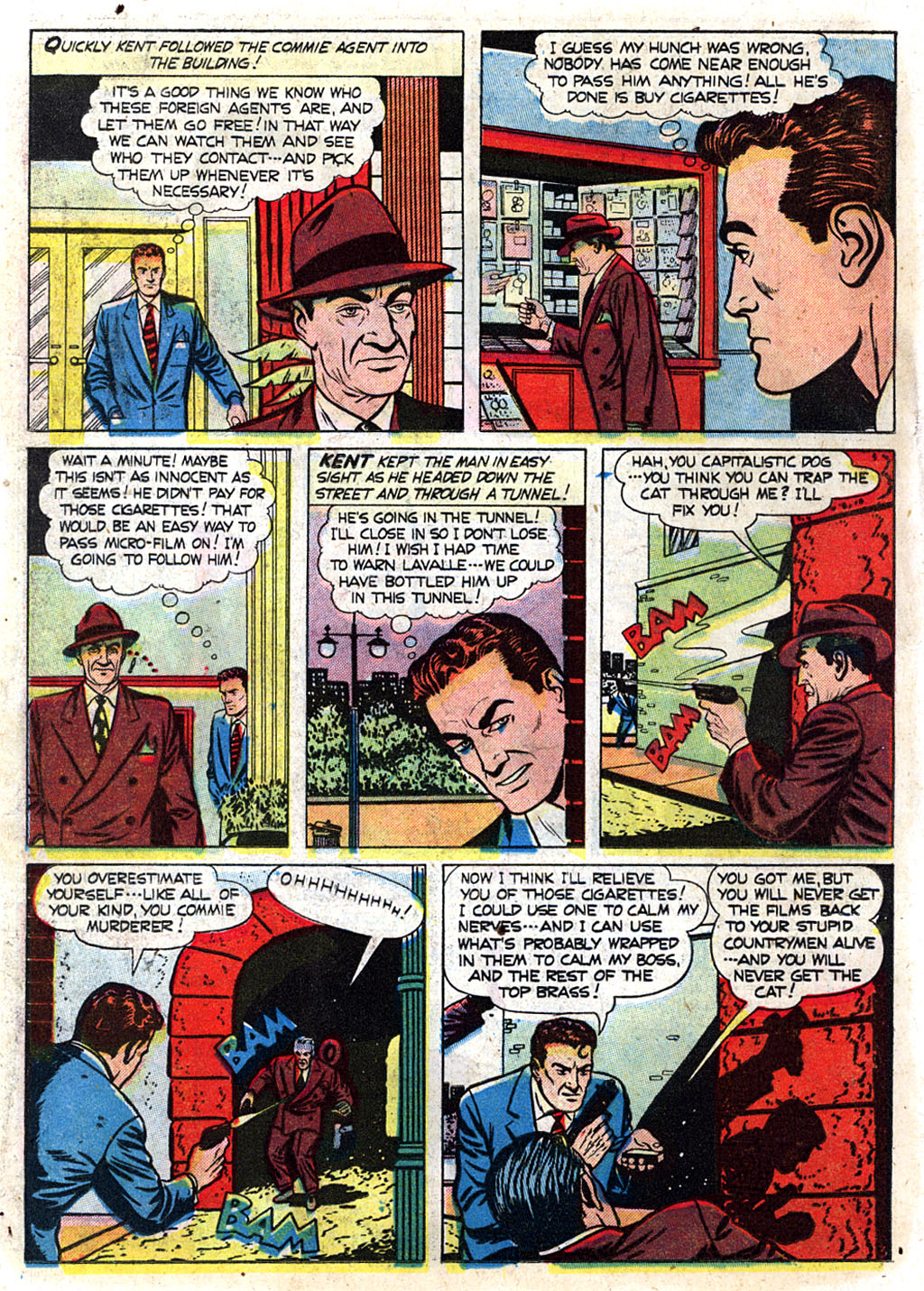 Kent Blake of the Secret Service issue 3 - Page 14