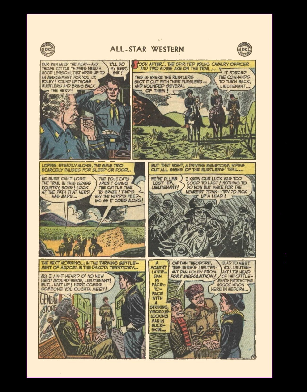 Read online All-Star Western (1951) comic -  Issue #72 - 20