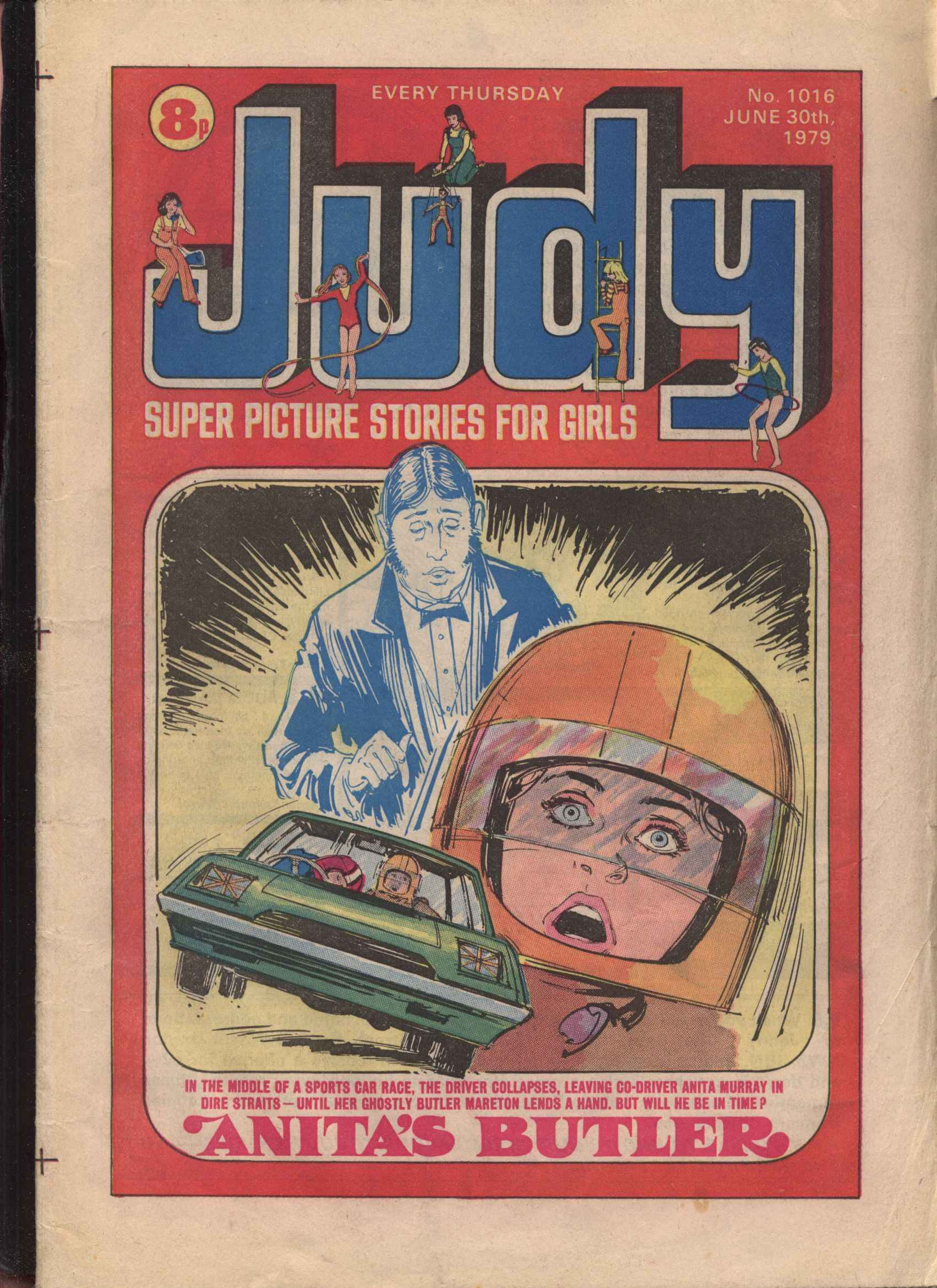 Read online Judy comic -  Issue #16 - 1