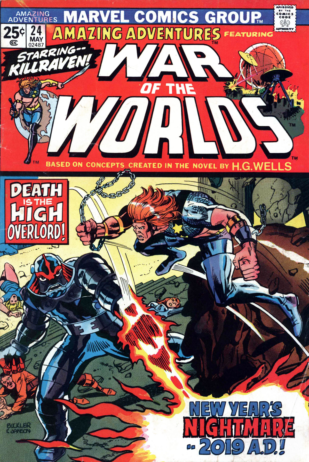 Read online Amazing Adventures (1970) comic -  Issue #24 - 1