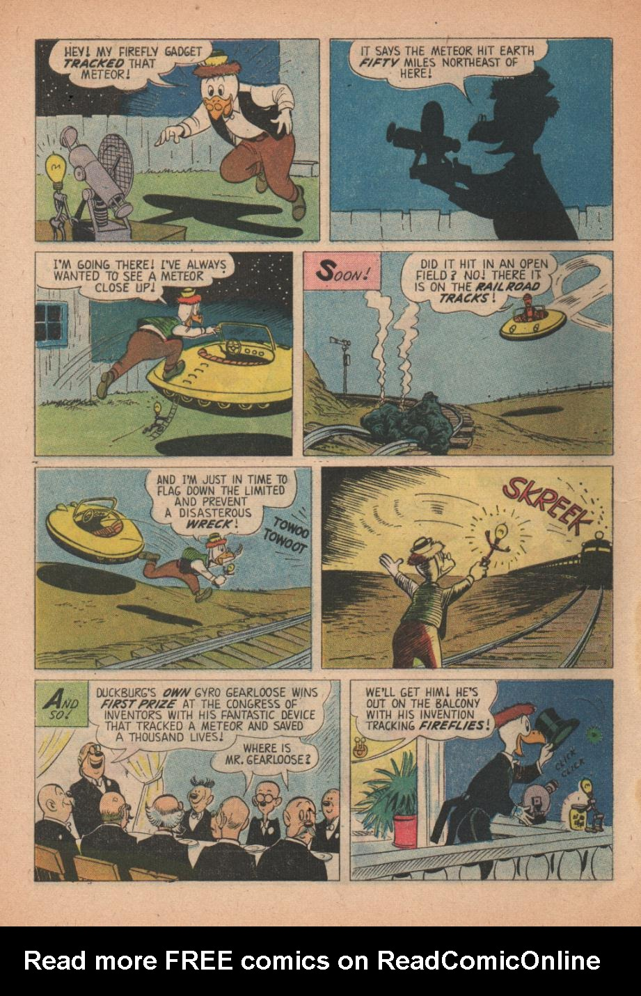 Read online Uncle Scrooge (1953) comic -  Issue #27 - 28