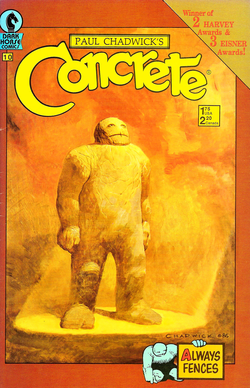 Concrete (1987) issue 10 - Page 1