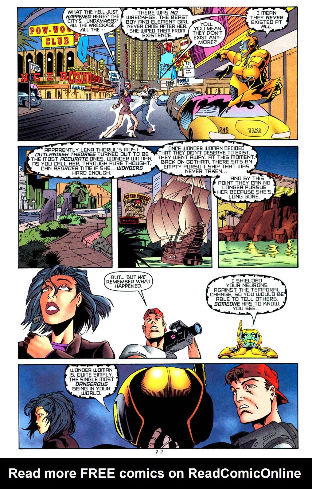 Read online Tangent Comics/ Wonder Woman comic -  Issue # Full - 22