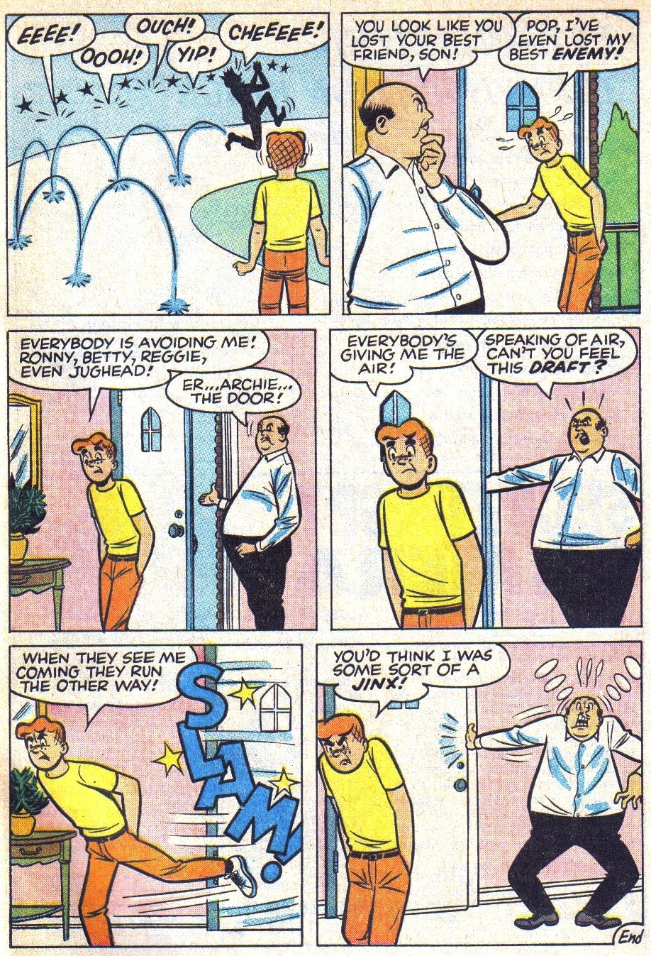Read online Archie (1960) comic -  Issue #166 - 28