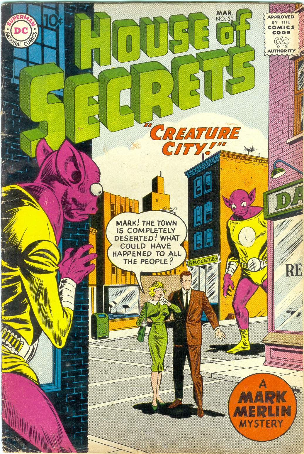 House of Secrets (1956) issue 30 - Page 1