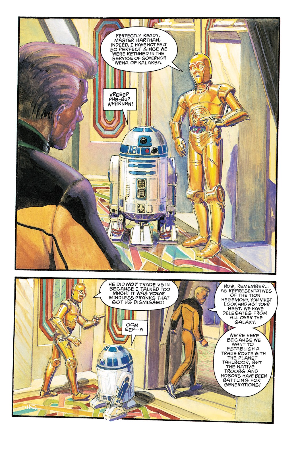 Read online Star Wars Legends Epic Collection: The Empire comic -  Issue # TPB 5 (Part 4) - 93