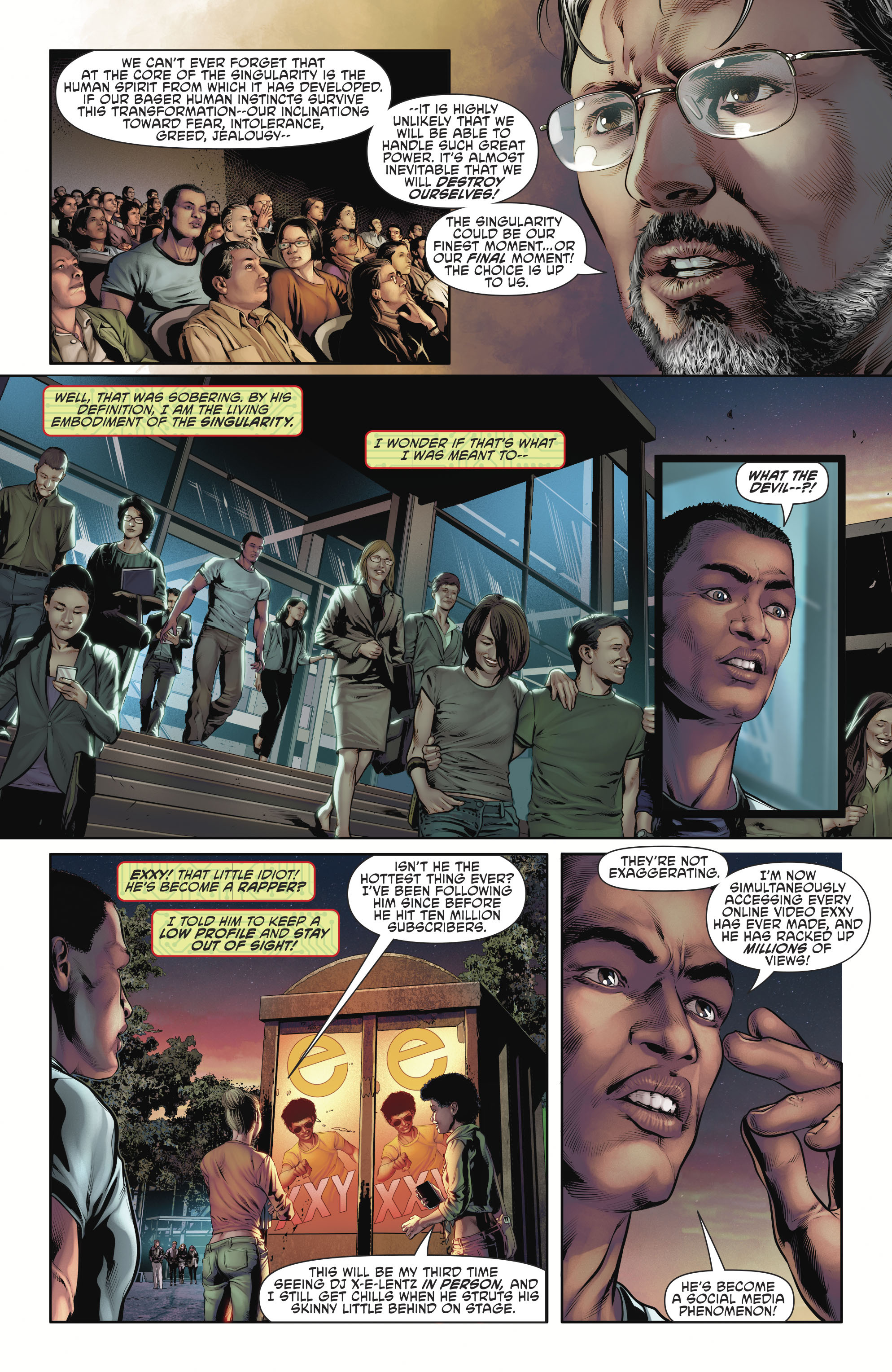 Read online Cyborg (2016) comic -  Issue #12 - 8