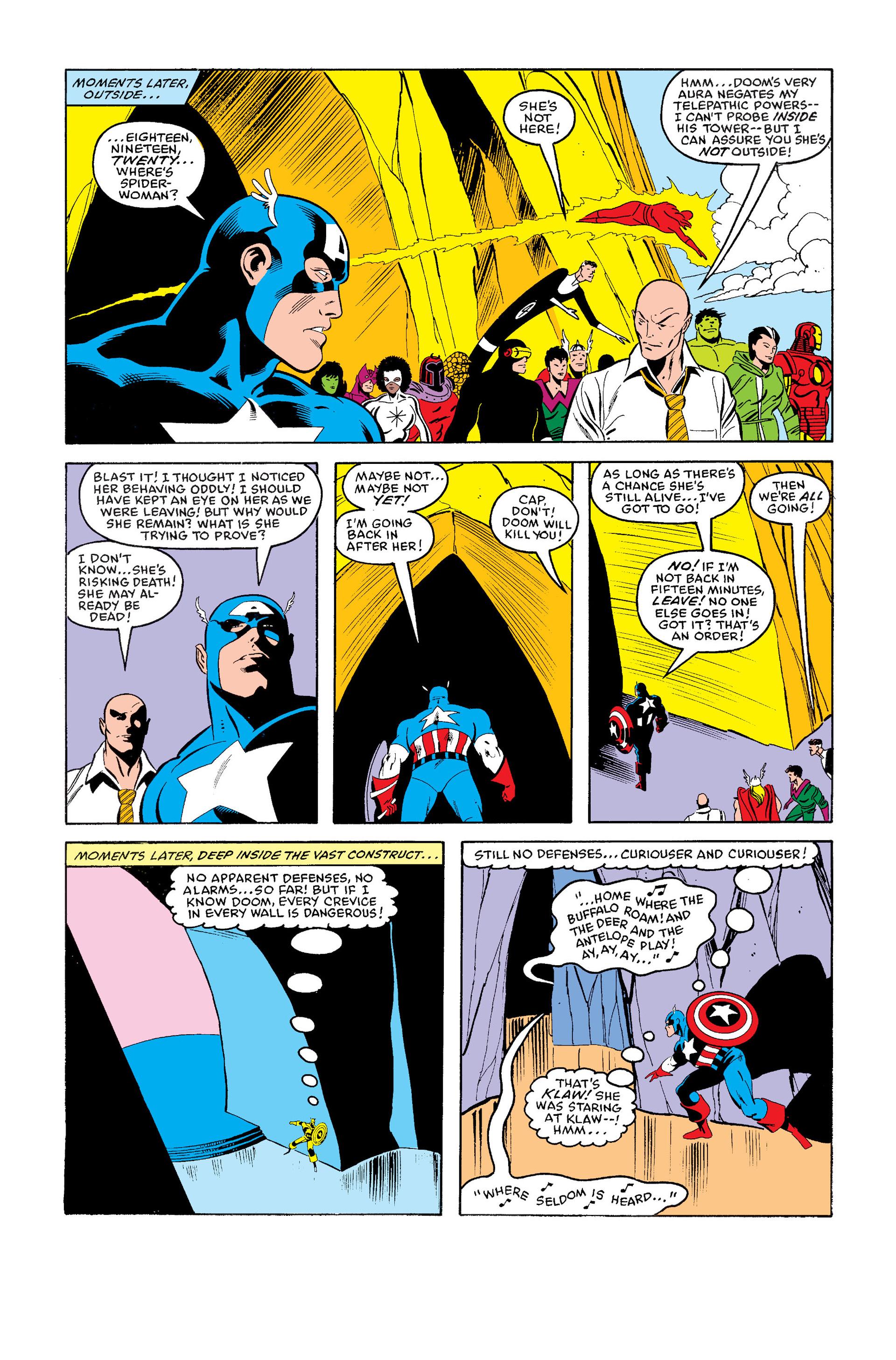 Read online Secret Wars (1985) comic -  Issue #11 - 20