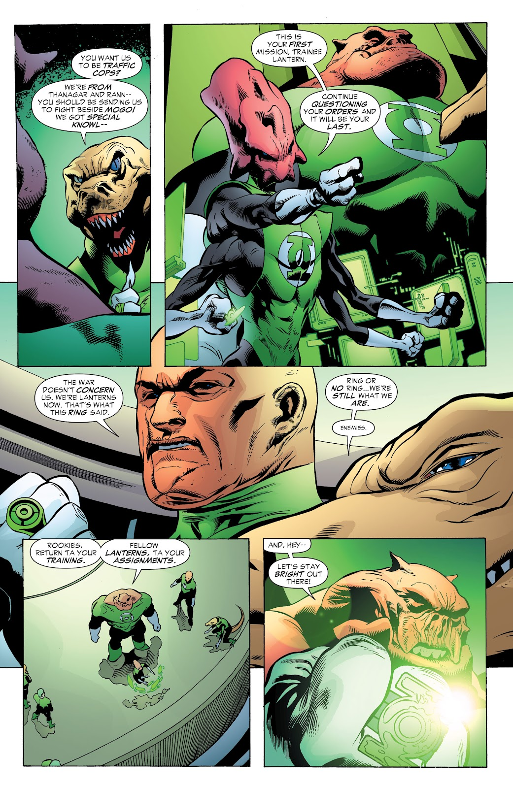 Read online Green Lantern by Geoff Johns comic -  Issue # TPB 1 (Part 3) - 11