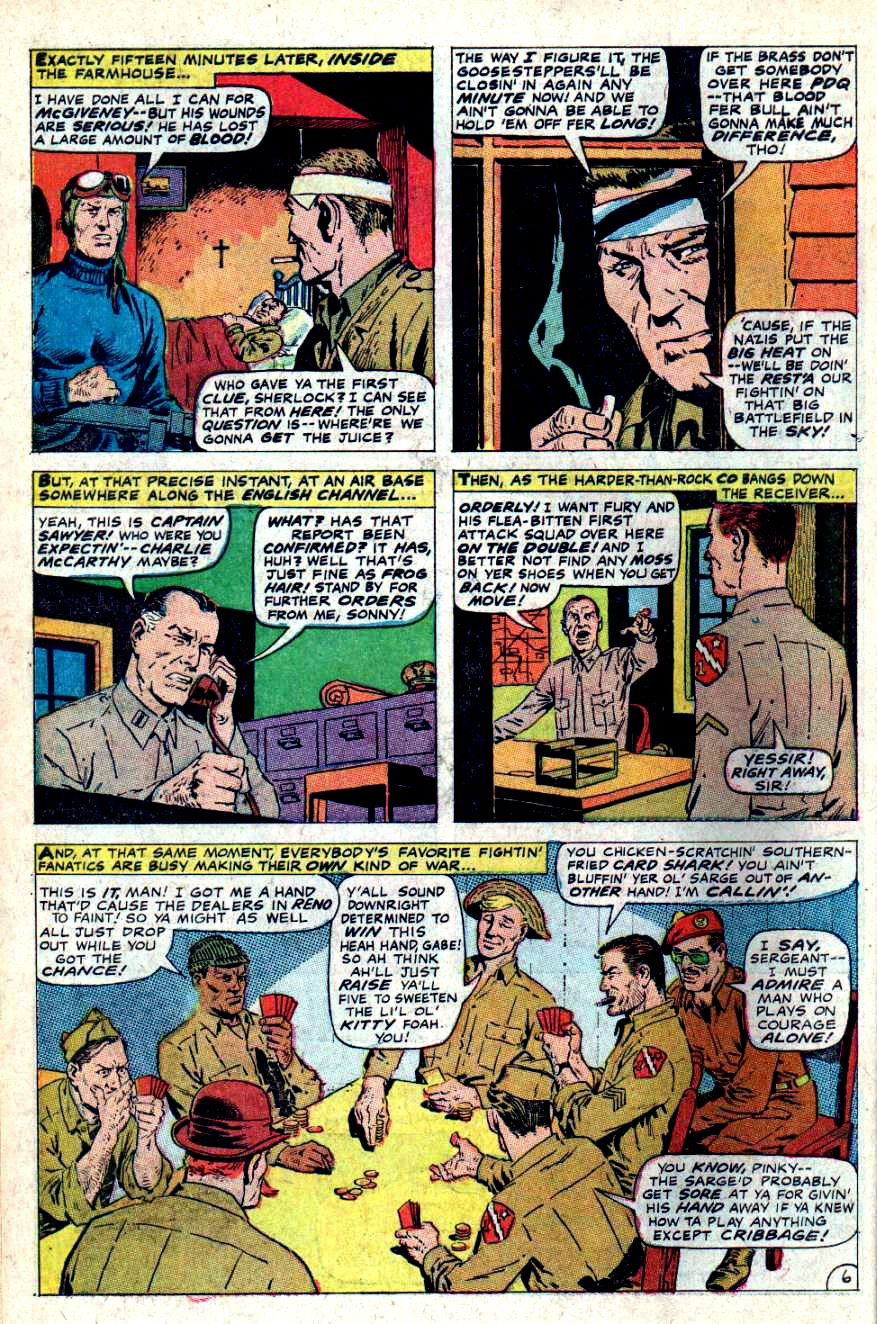 Read online Sgt. Fury comic -  Issue #46 - 10