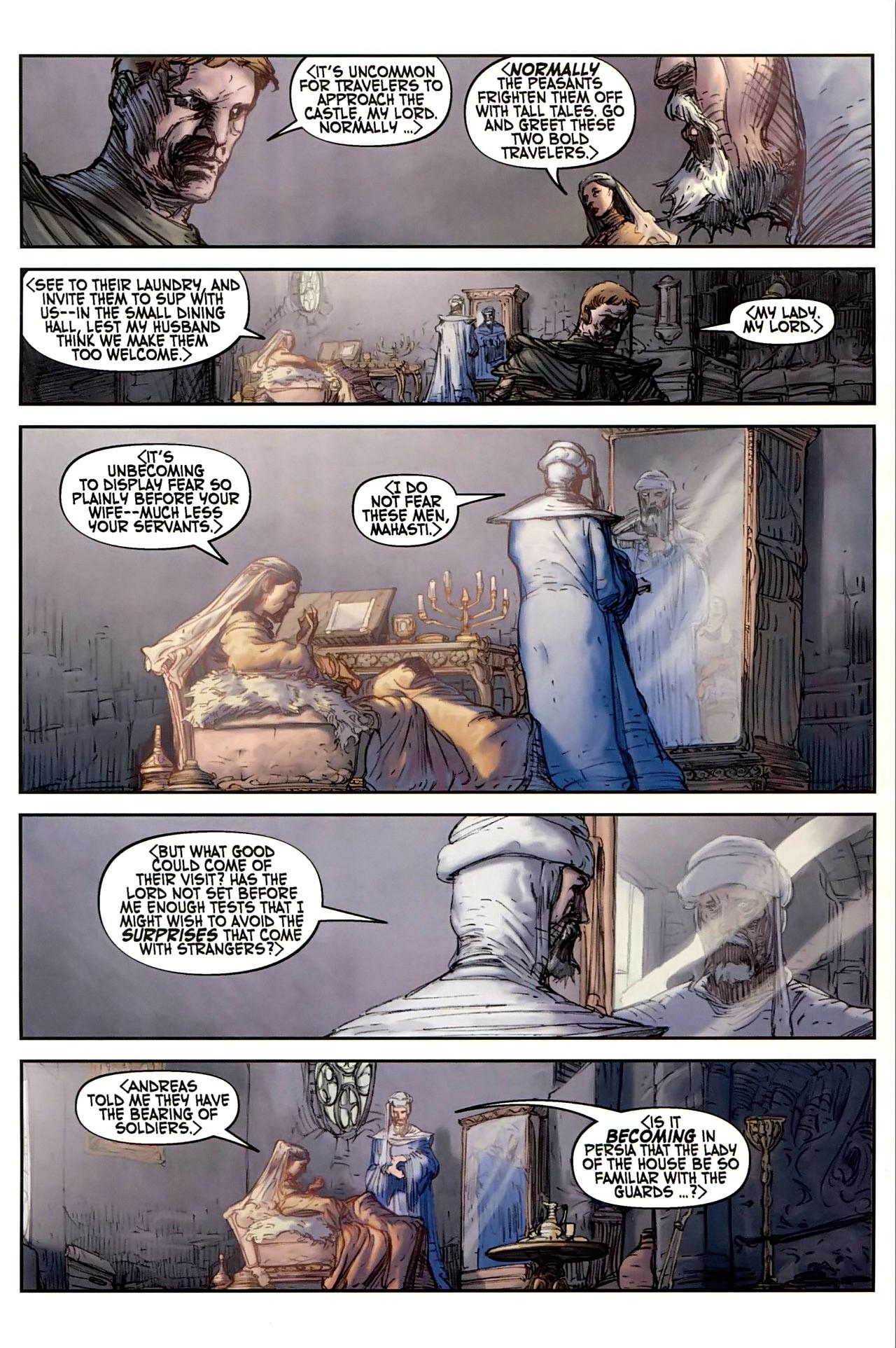 Read online Solomon Kane comic -  Issue #1 - 16