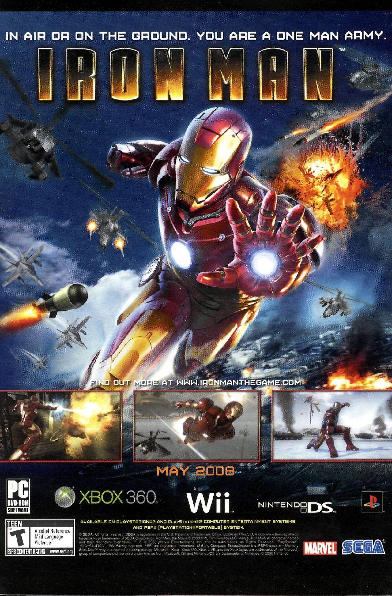 Read online Sega Iron Man Special comic -  Issue # Full - 20