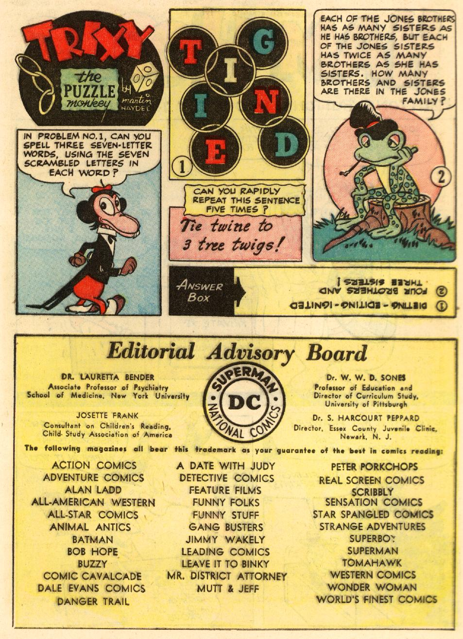 Read online Animal Antics comic -  Issue #29 - 41