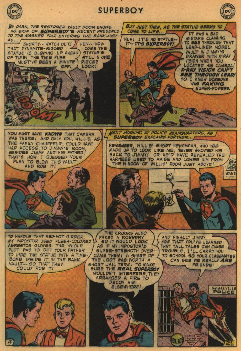 Superboy (1949) issue 64 - Page 9