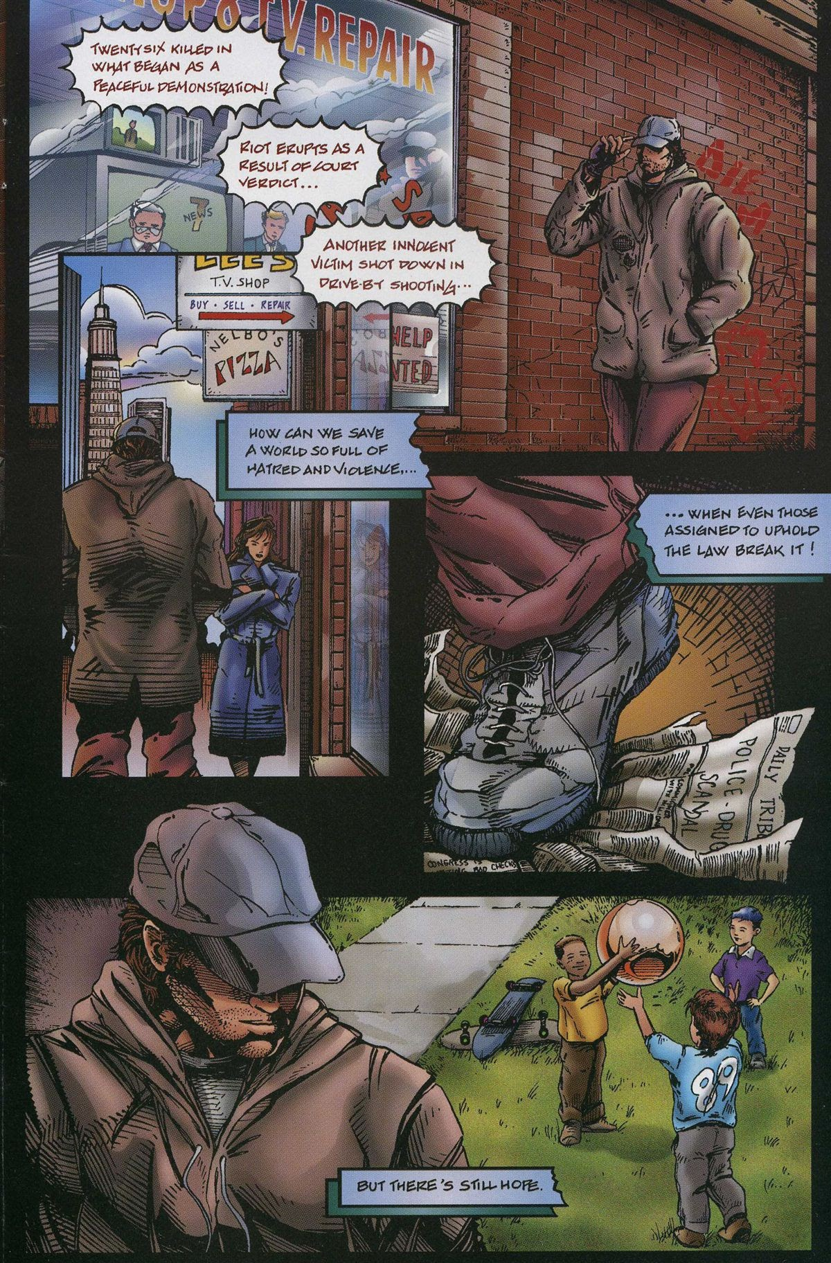 ArchAngels: The Saga issue 1 - Page 8