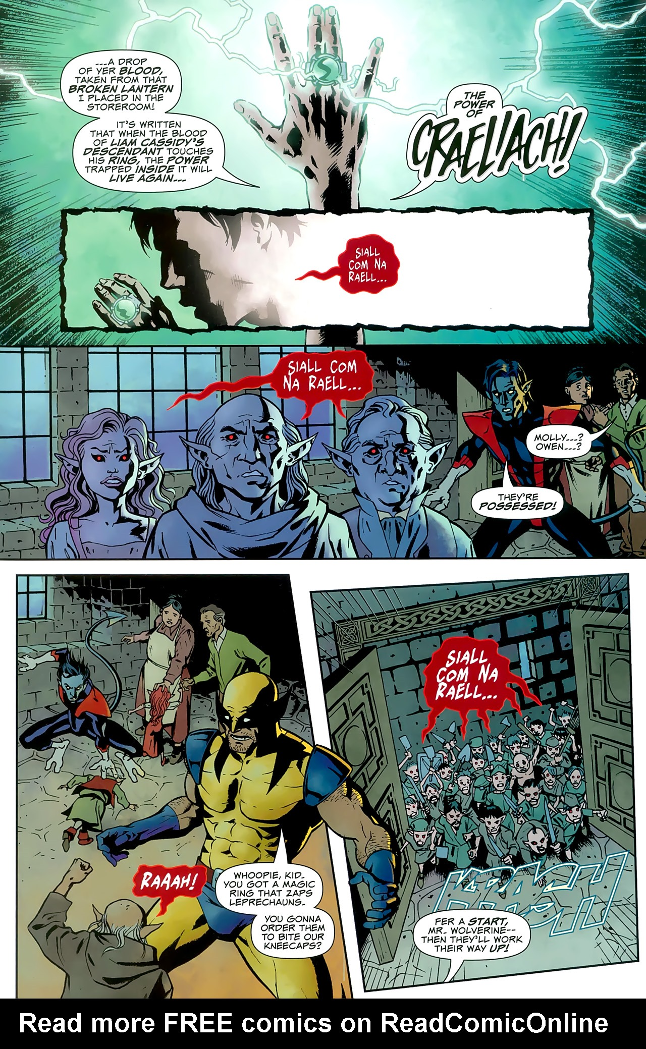 Read online Uncanny X-Men: First Class comic -  Issue #8 - 16