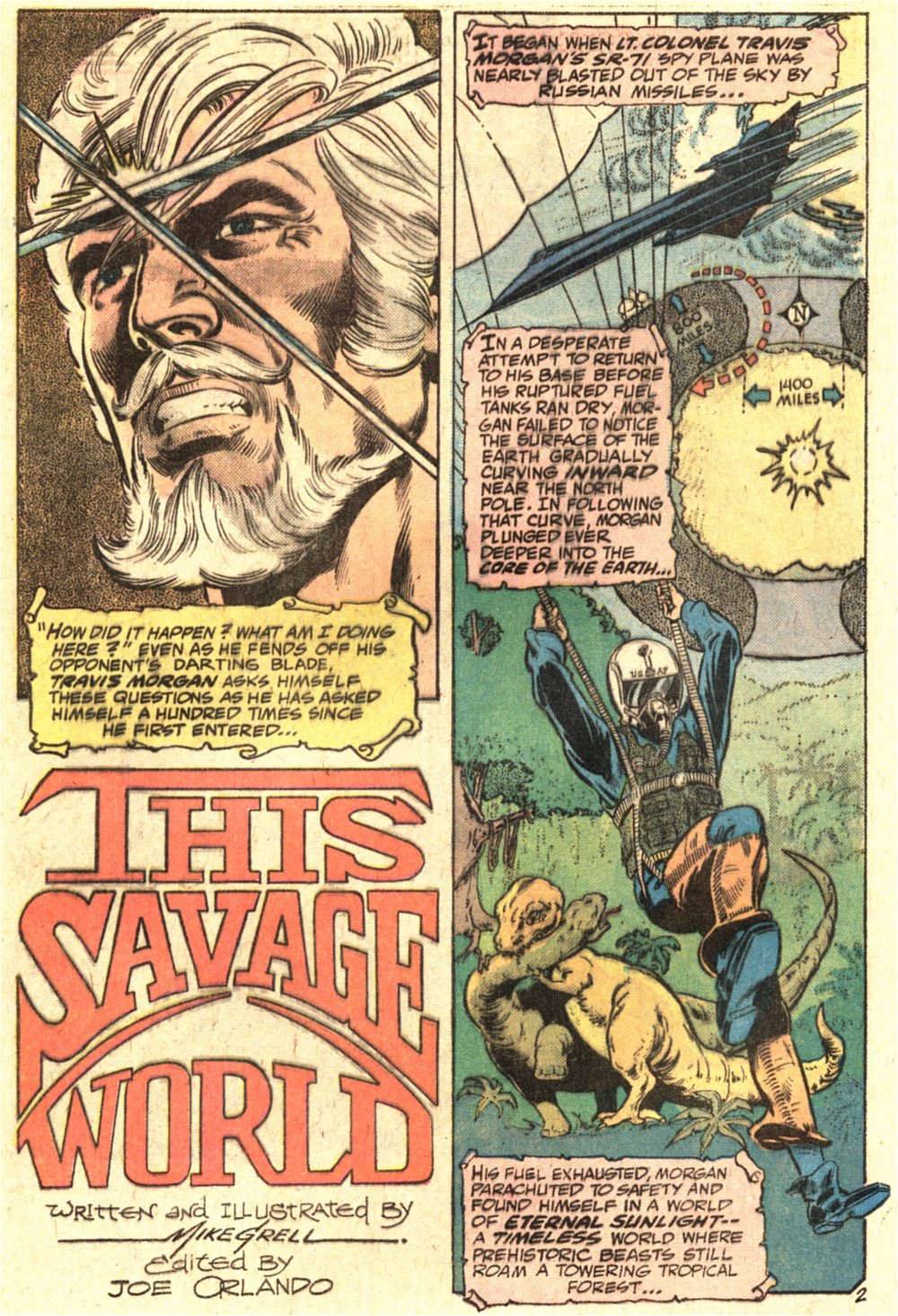 Warlord (1976) issue 1 - Page 3
