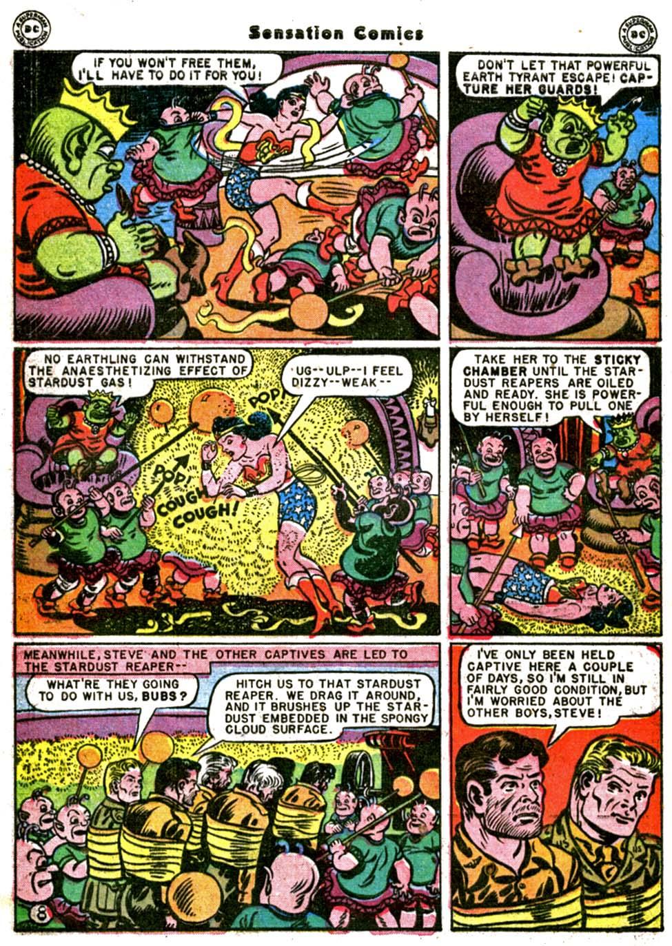 Read online Sensation (Mystery) Comics comic -  Issue #64 - 10