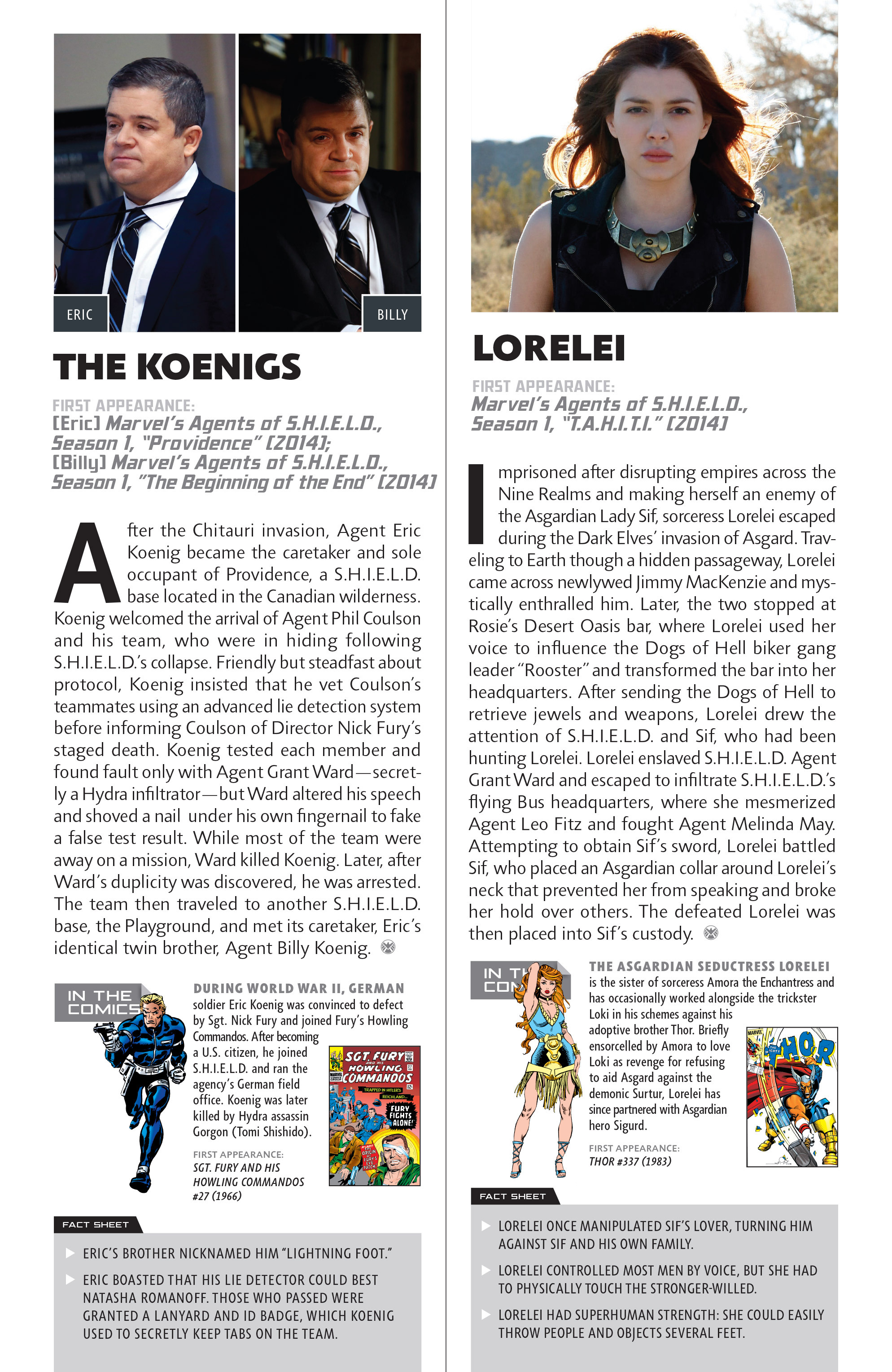 Read online Guidebook to the Marvel Cinematic Universe - Marvel's Agents of S.H.I.E.L.D. Season One comic -  Issue # Full - 19