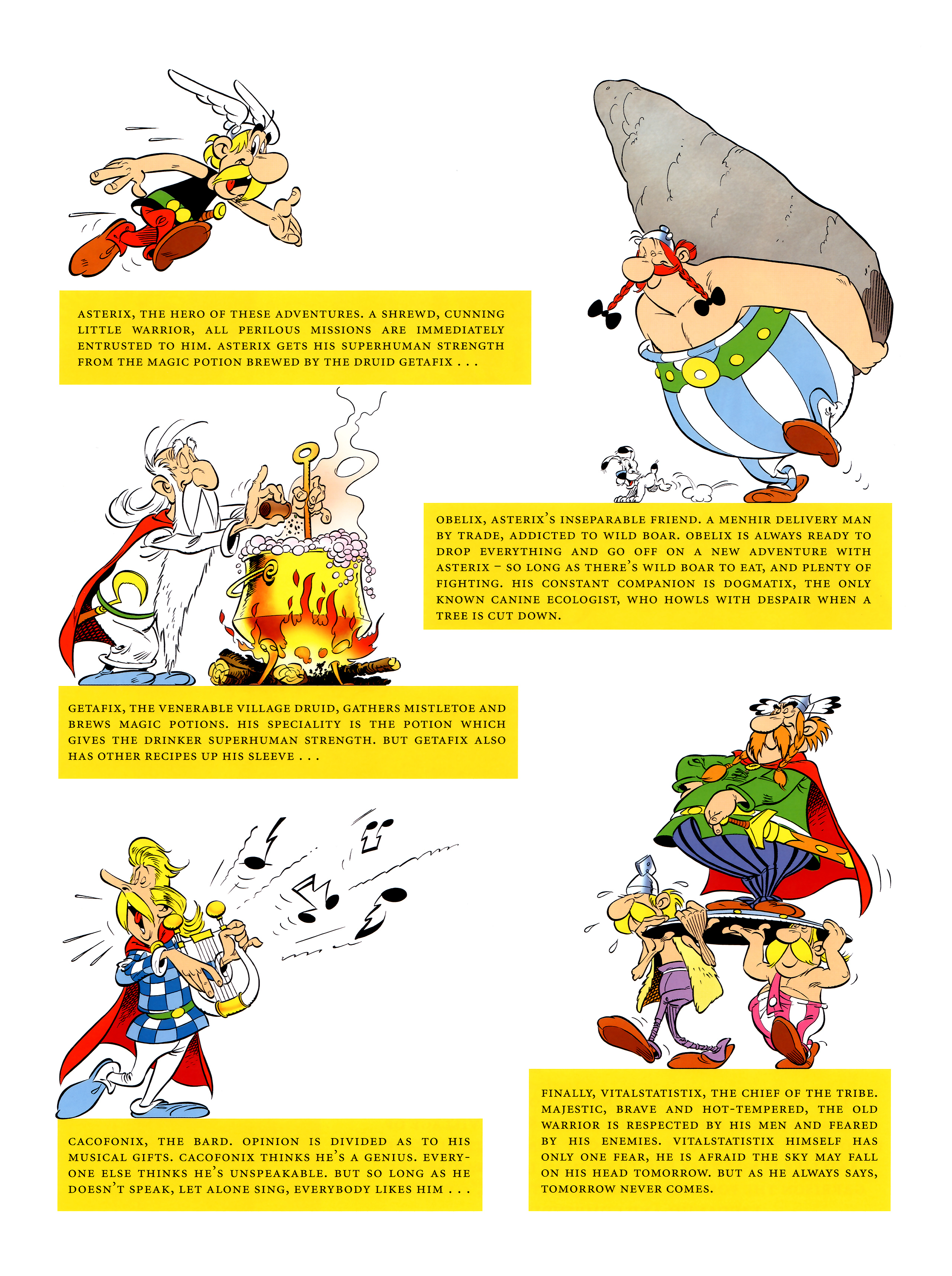 Read online Asterix comic -  Issue #36 - 5