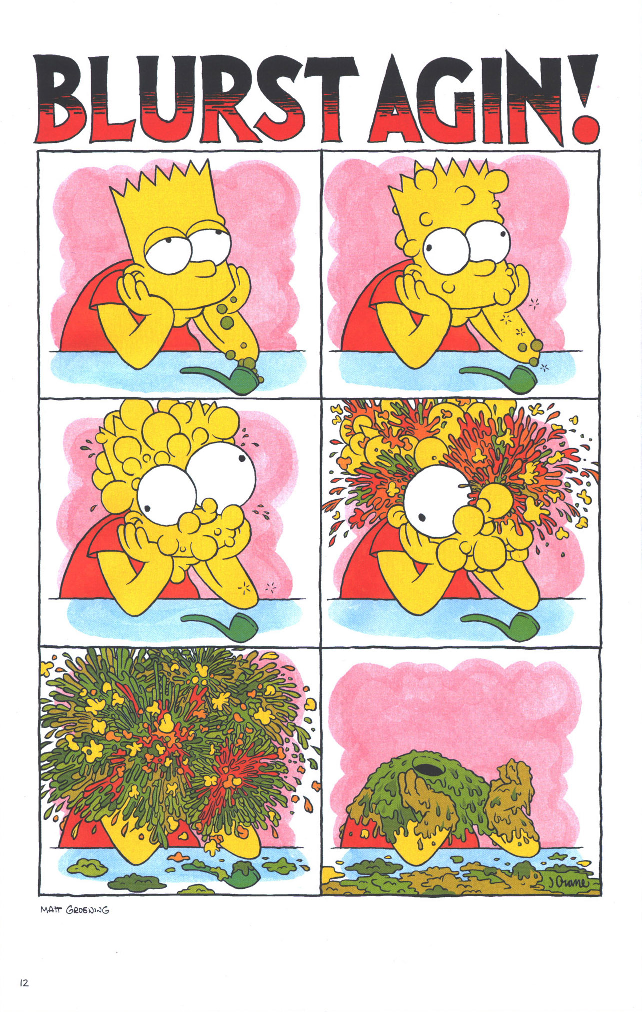 Read online Treehouse of Horror comic -  Issue #15 - 15