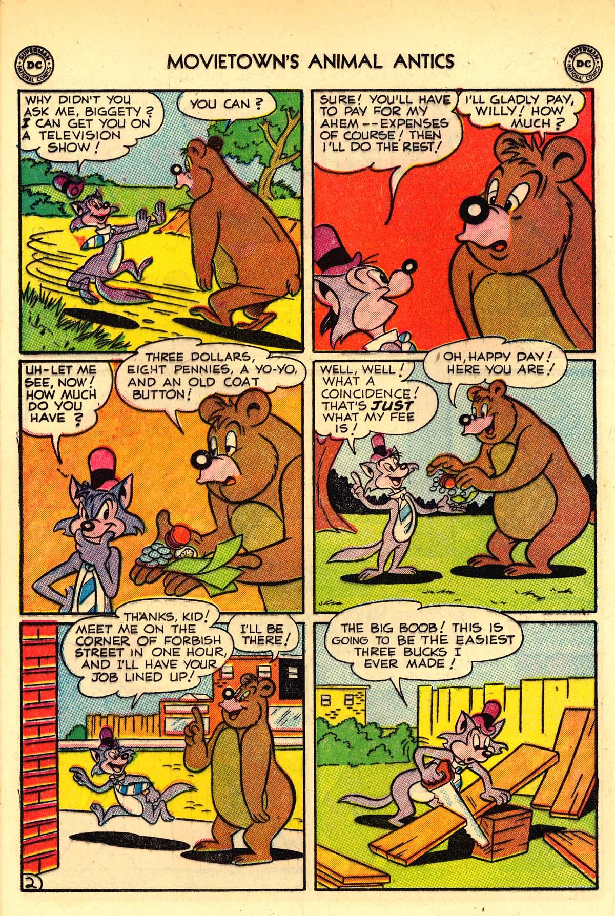 Read online Animal Antics comic -  Issue #33 - 28
