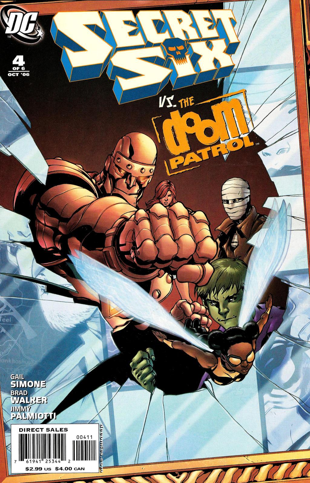 Read online Secret Six (2006) comic -  Issue #4 - 1